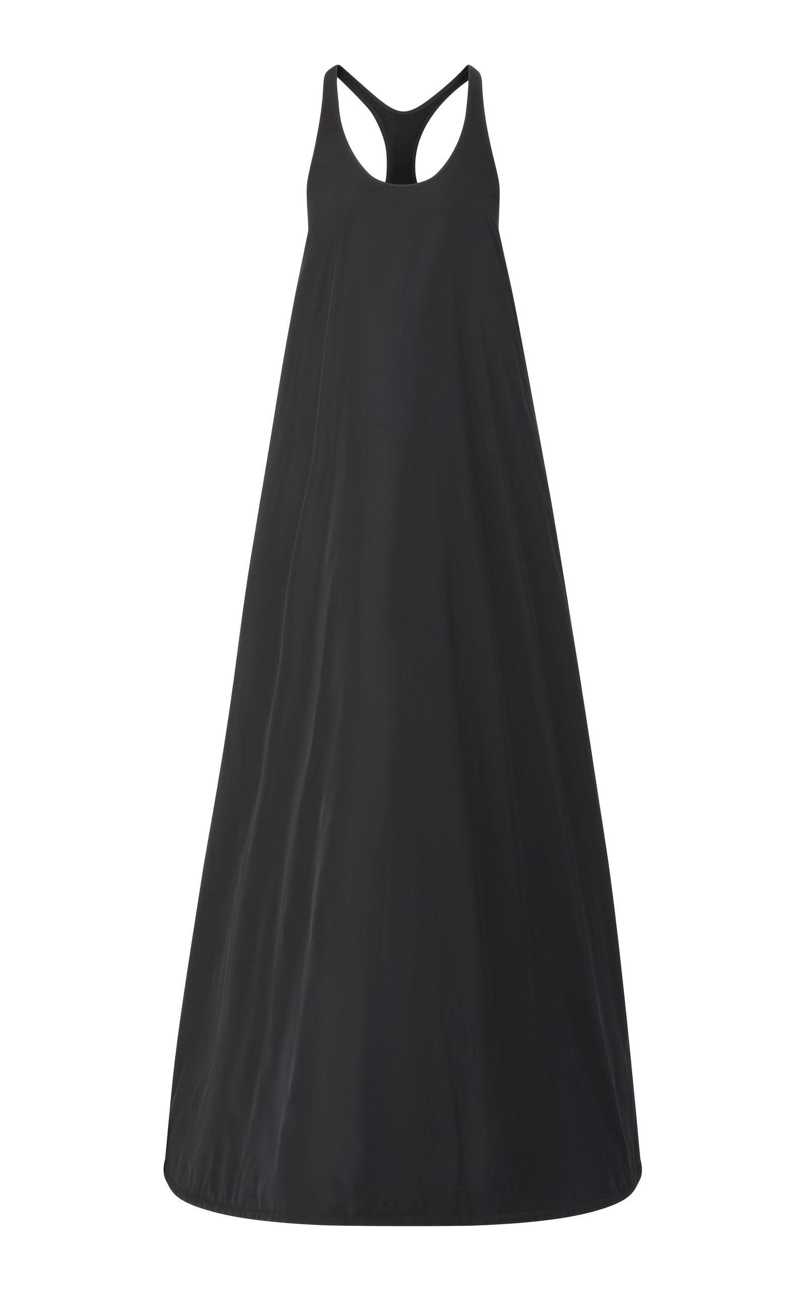 Women's Racerback Taffeta Gown