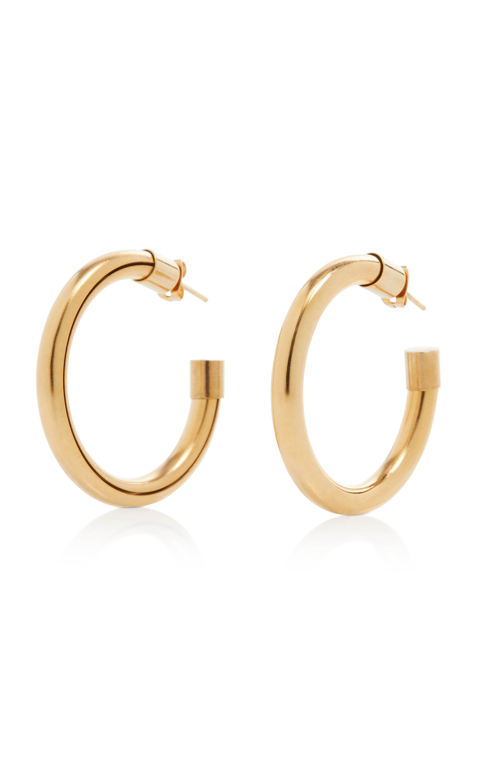 Women's Gold-Tone Metal Hoop Earrings