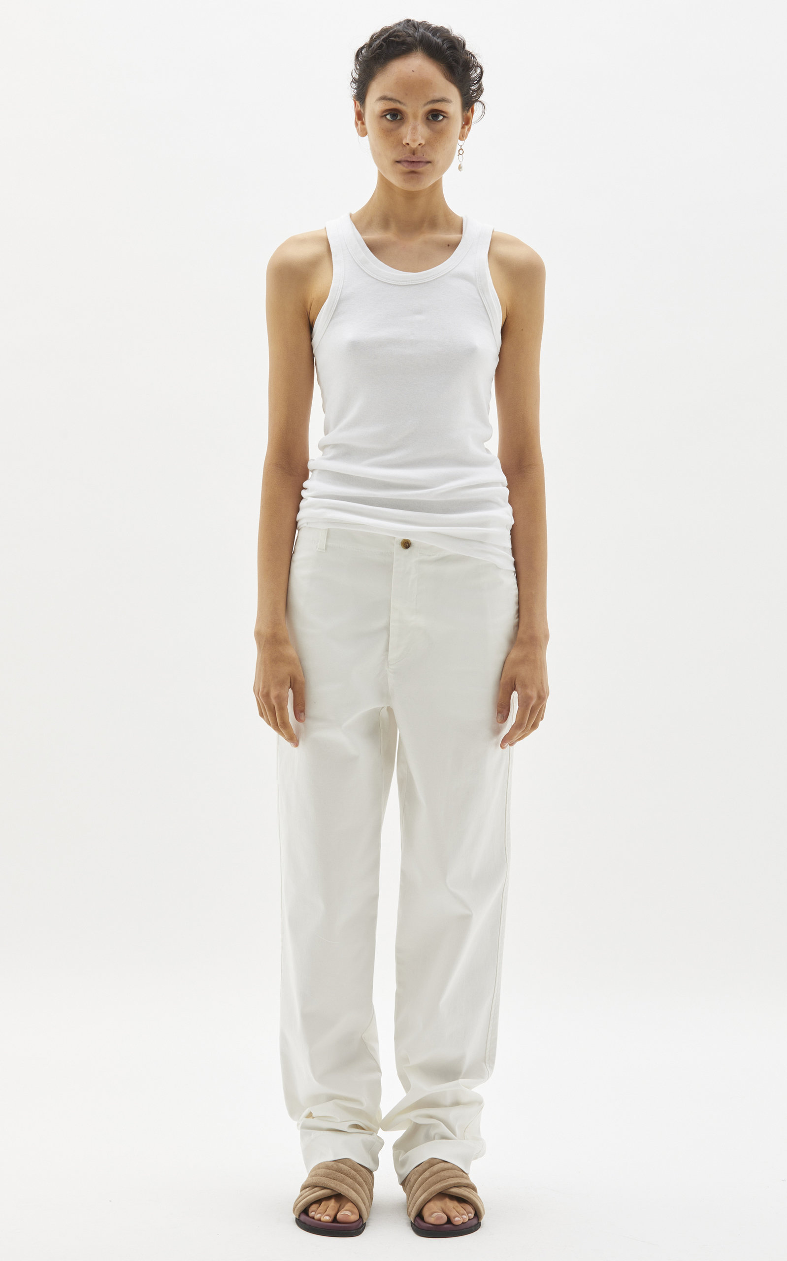 Women's Ribbed Cotton Top