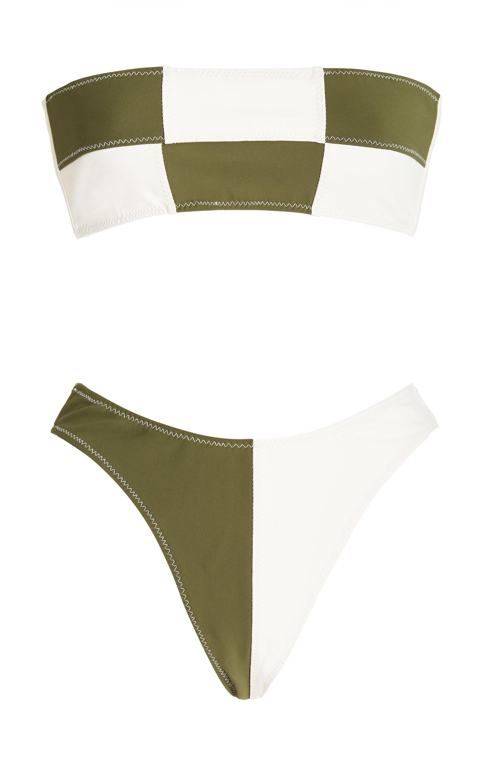 Women's Daria Colorblocked Bandeau Bikini