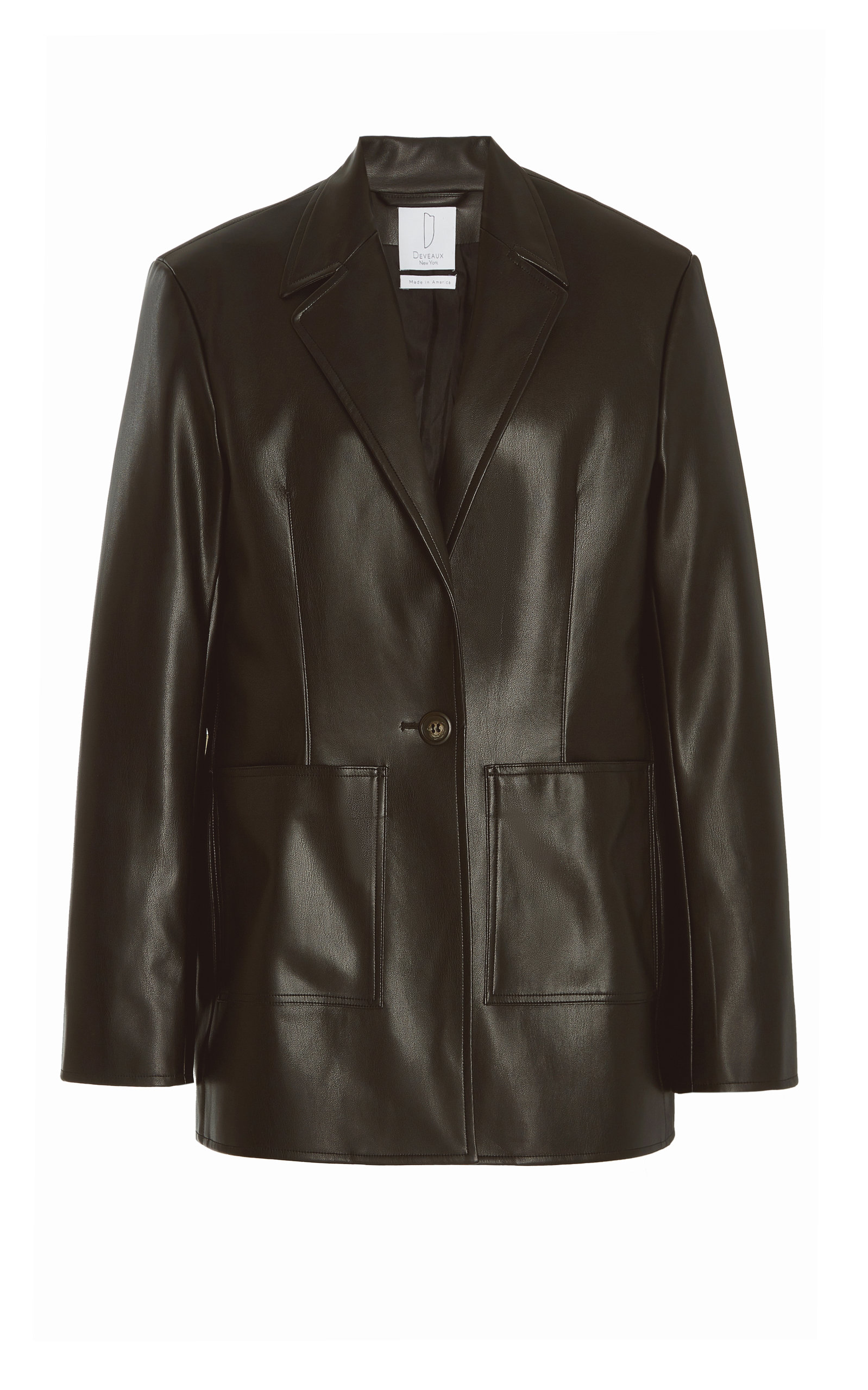 Women's Quinn Faux Leather Blazer