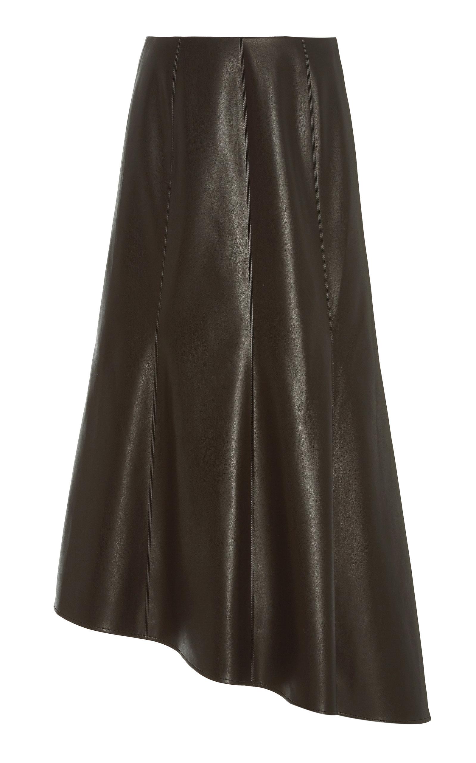 Women's Tiana Paneled Faux Leather Skirt