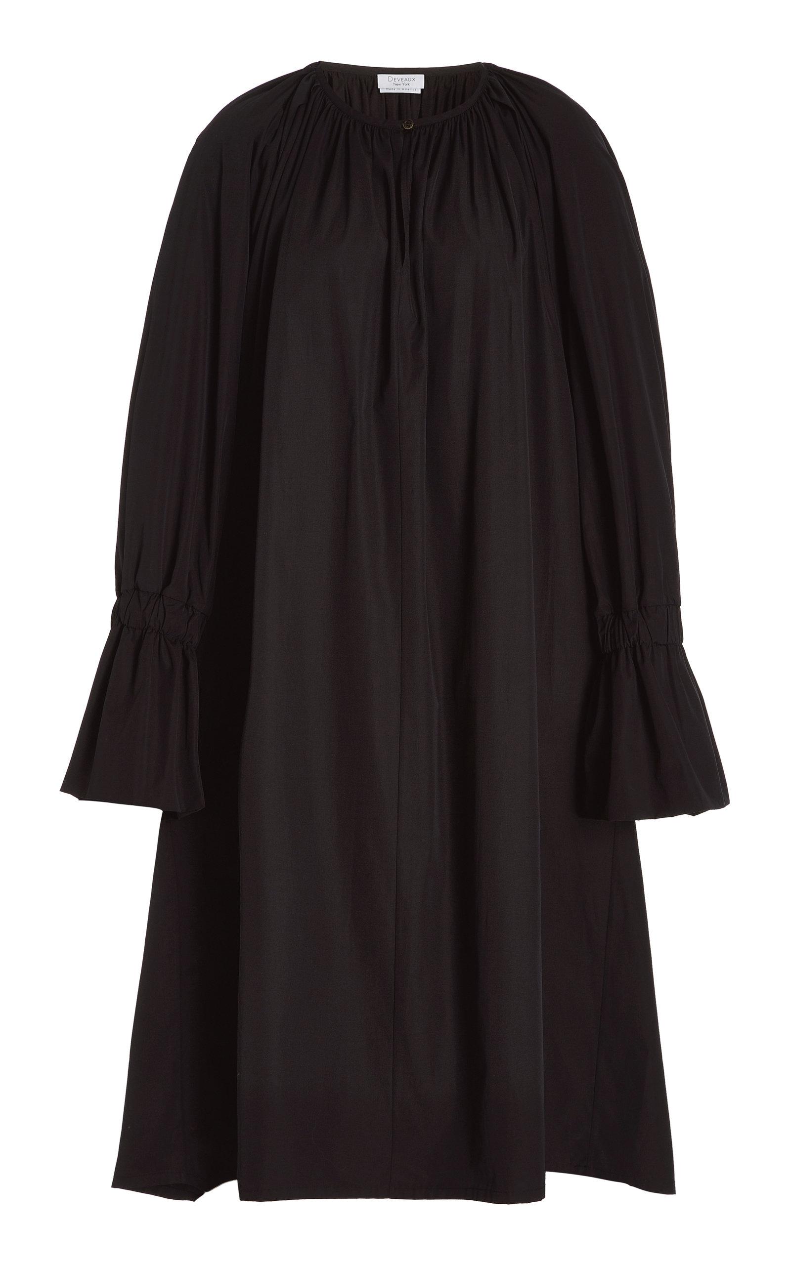 Women's Aurora Balloon-Sleeve Poplin Dress