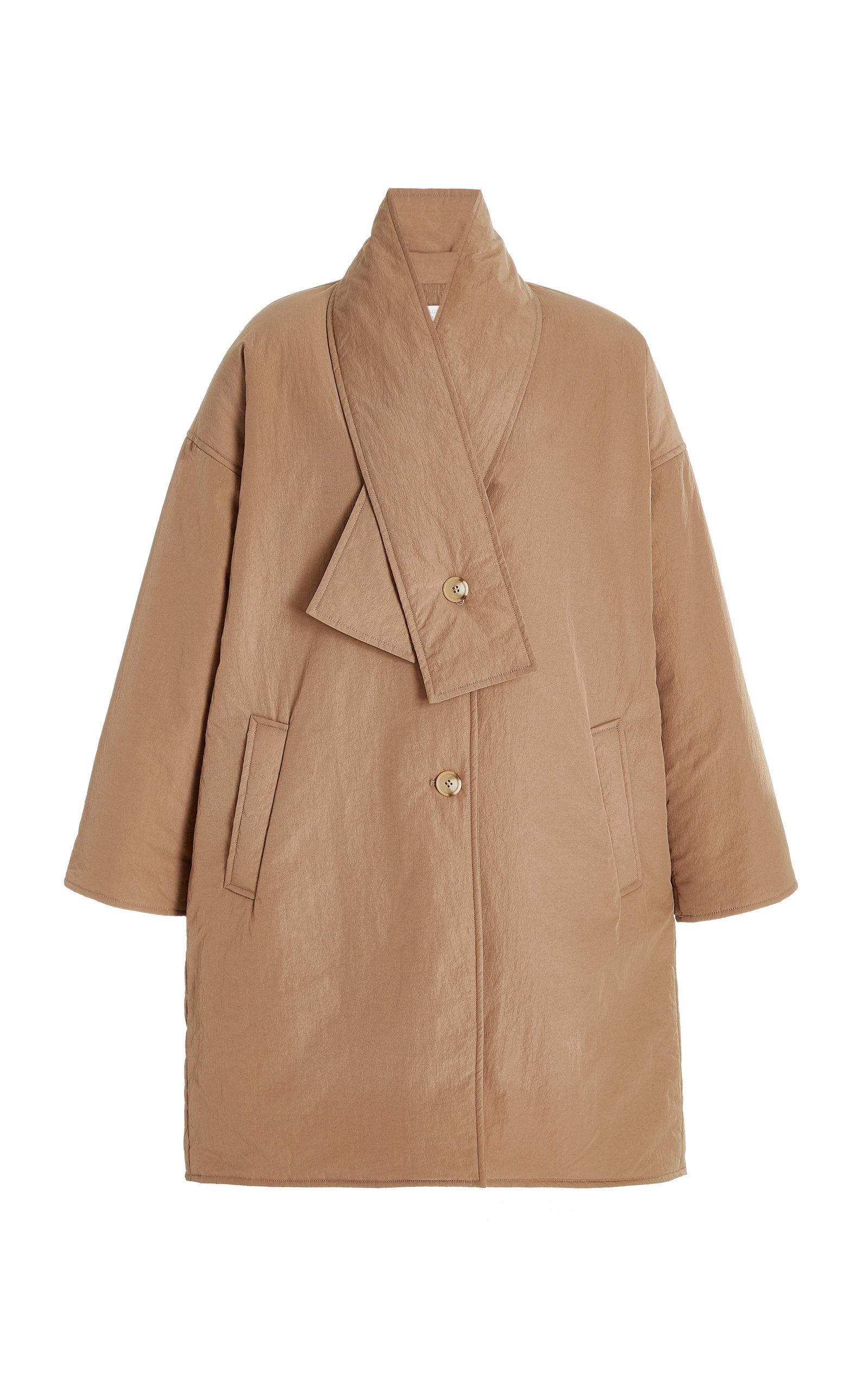 Women's Enya Padded Nylon Coccoon Coat