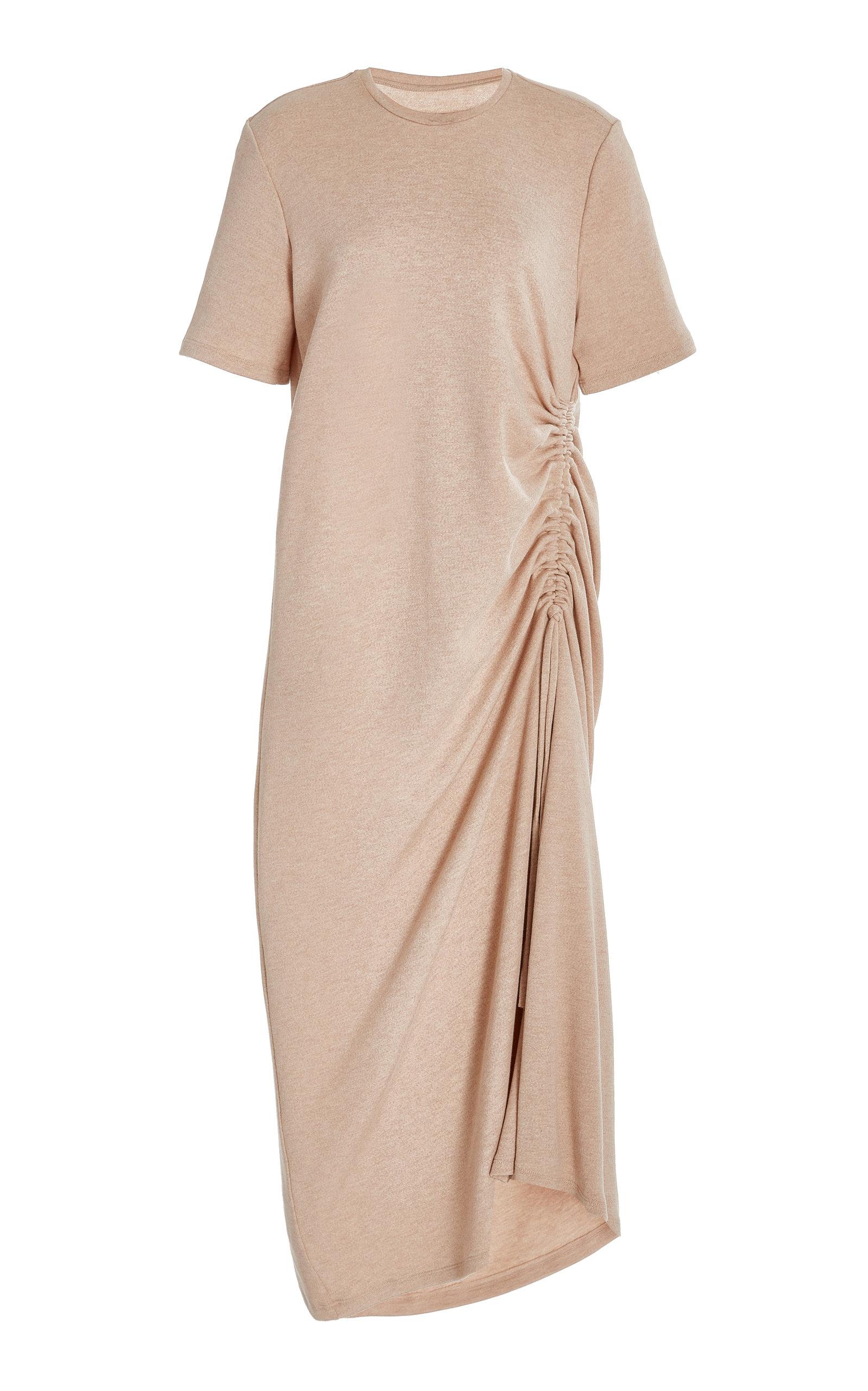 Women's Kate Ruched Cotton Maxi Dress