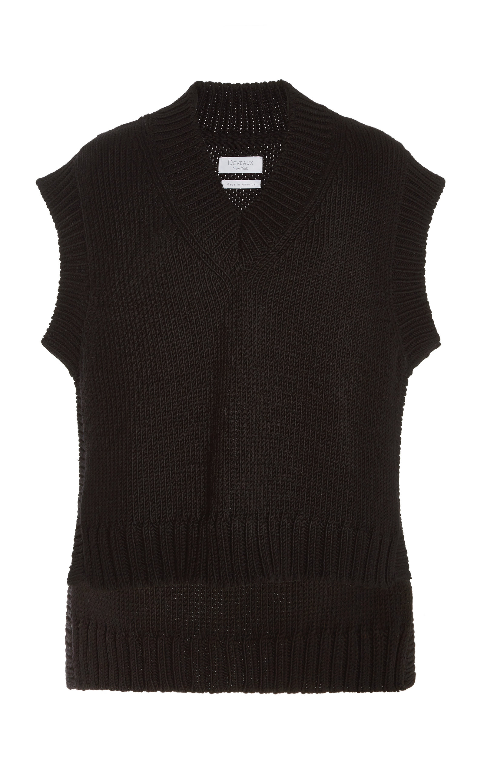 Women's Alix Wool-Cashmere Knit Vest