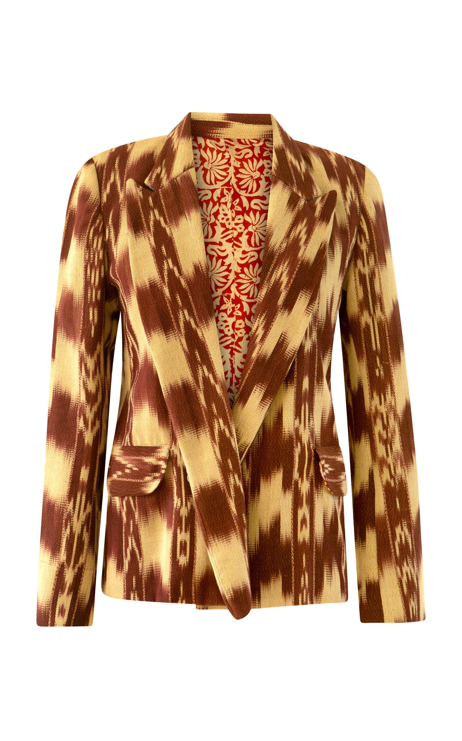 Women's Dree Rusted Ikat Blazer
