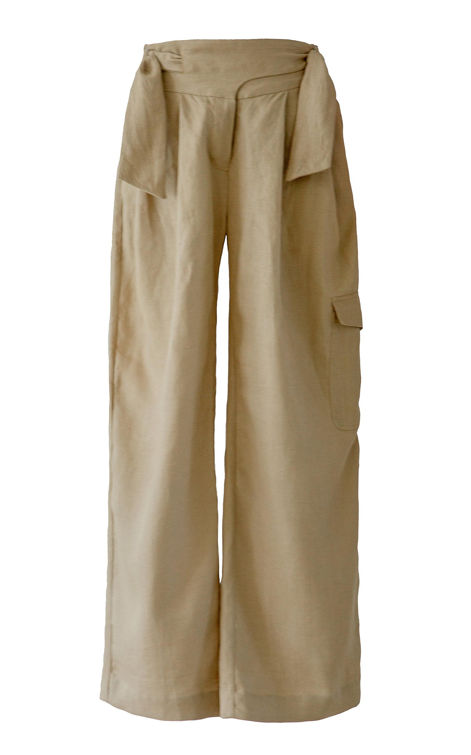 Women's Painter Linen Pants