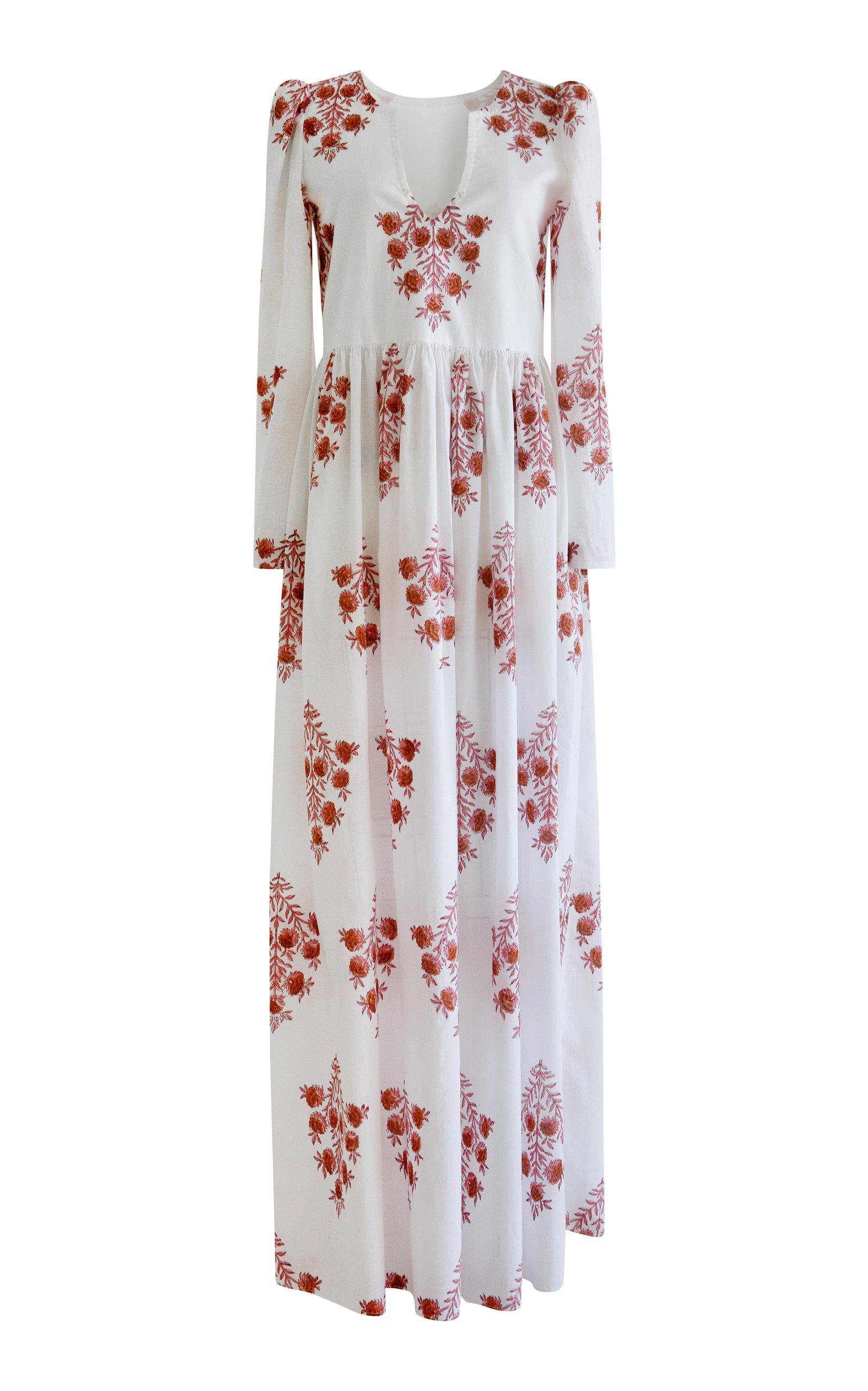 Alix of Bohemia - Women's Savannah Dahlia Print Dress - Print - Moda Operandi