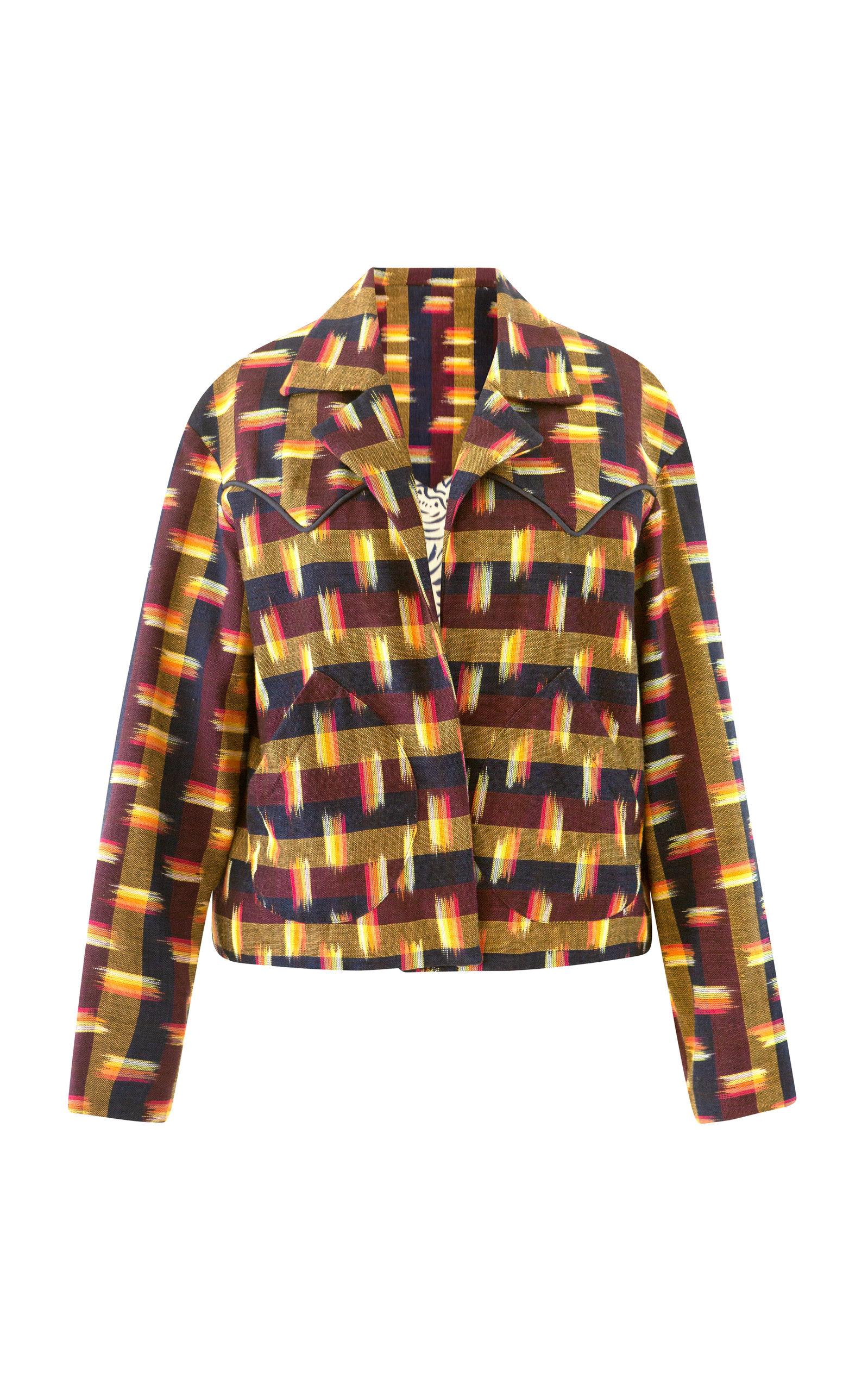 Women's Dune Drum Circle Ikat Jacket