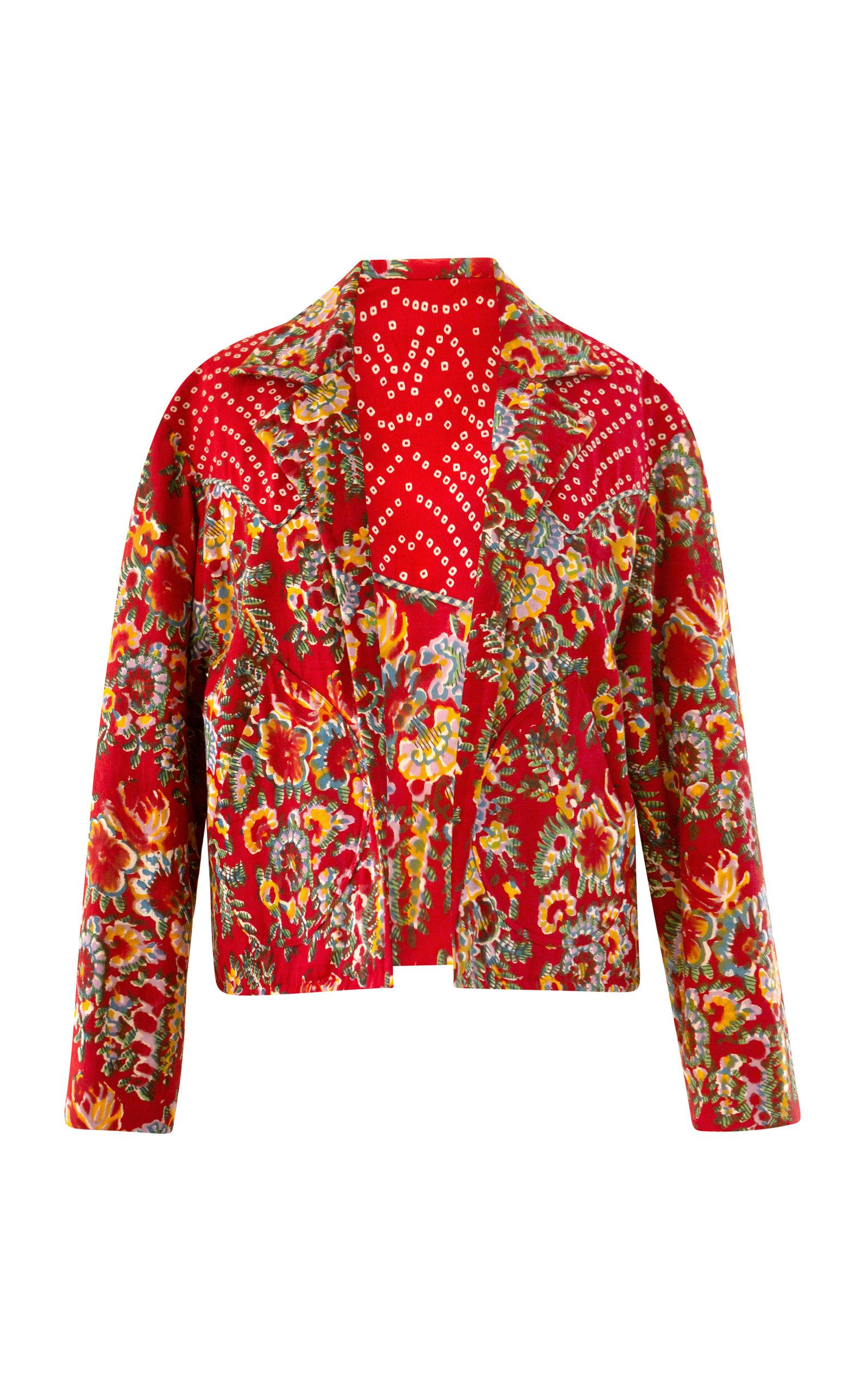 Alix of Bohemia - Women's Dune Rosemary Print Jacket - Print - Moda Operandi