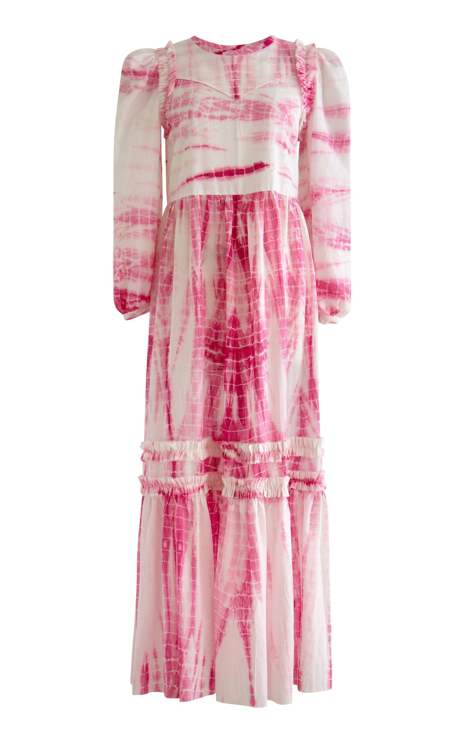 Alix of Bohemia - Women's Plume Shibori Dress - Pink - Moda Operandi