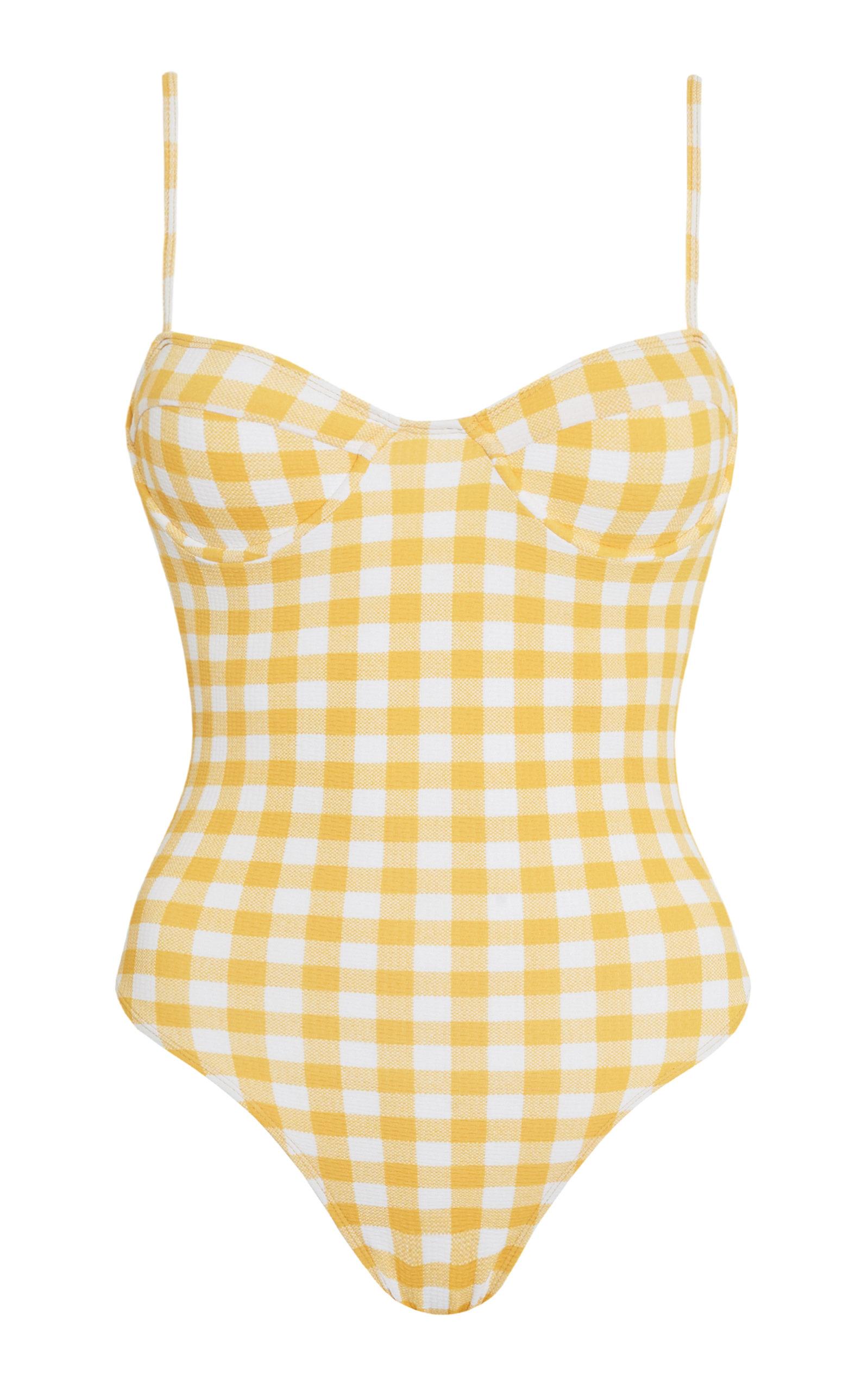 Women's Bea Gingham Print One-Piece Swimsuit