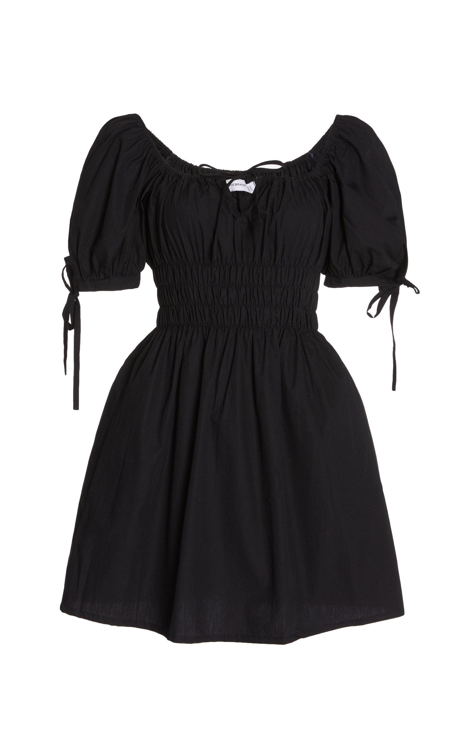 Women's Kanika Smocked Cotton Mini Dress