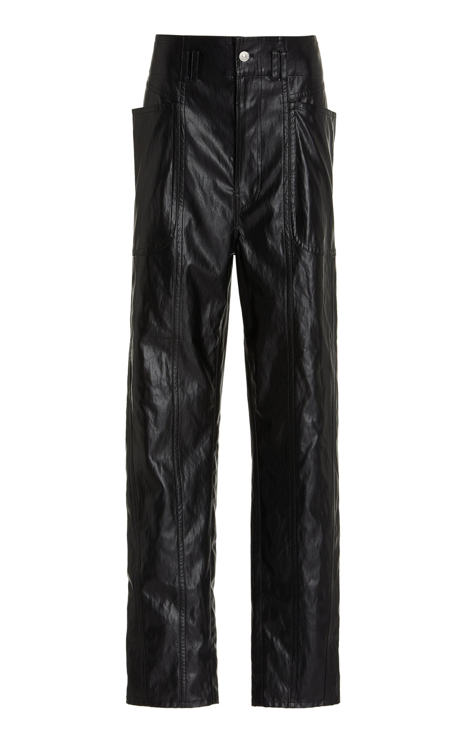 Women's Tessini Faux Leather Trousers