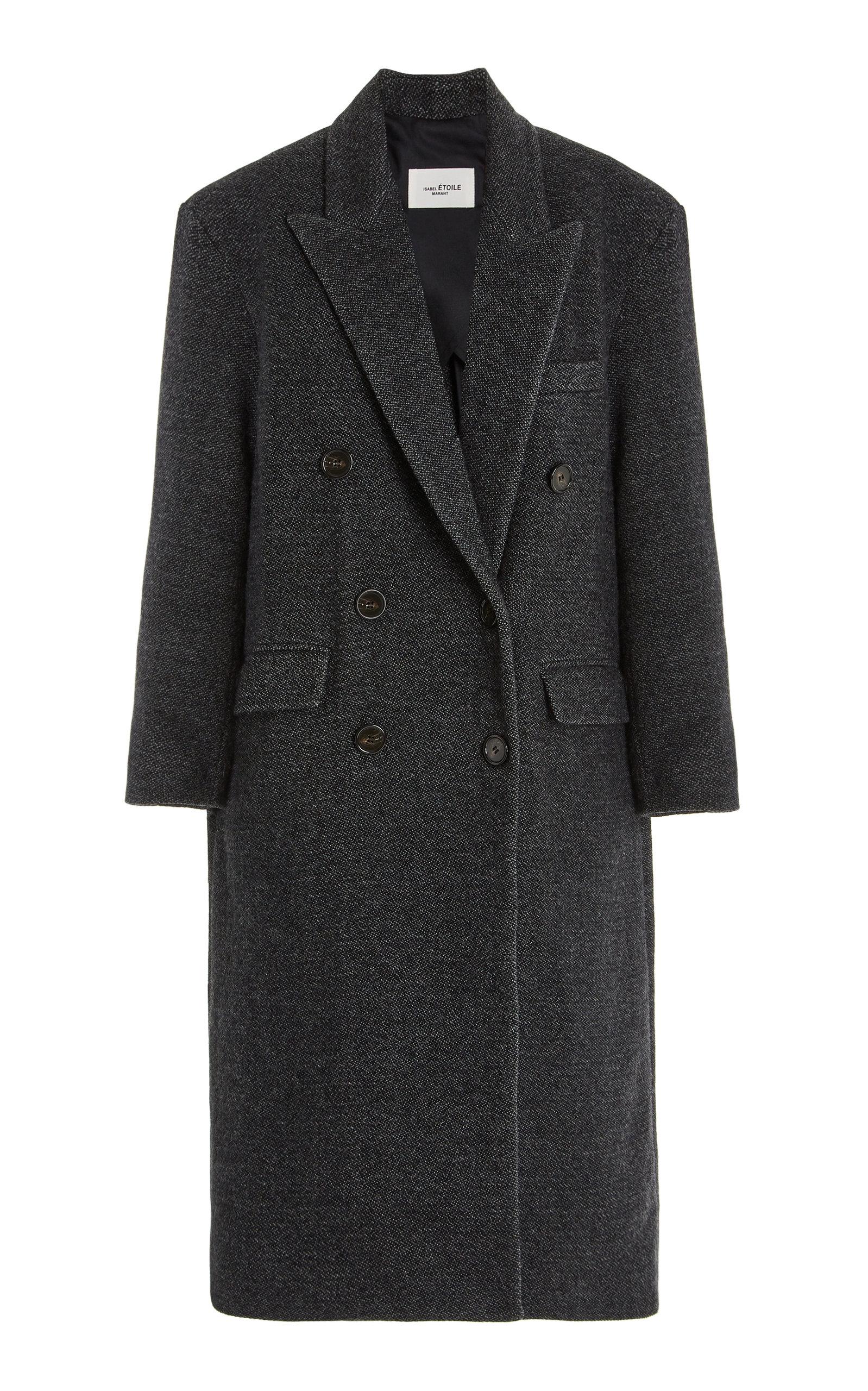 Women's Lojima Double-Breasted Wool-Blend Coat