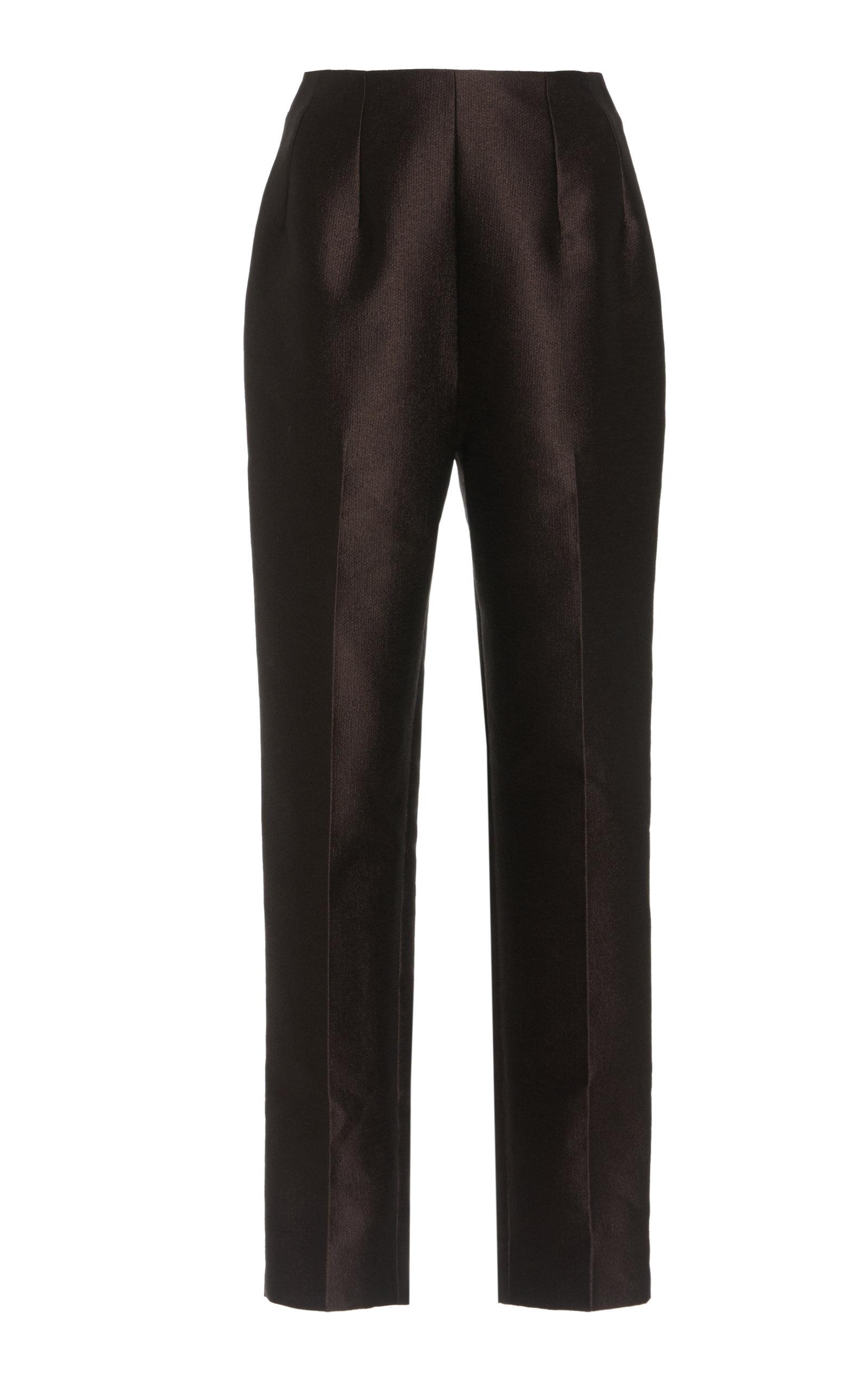 Women's Marcel Crepe Straight-Leg Pants