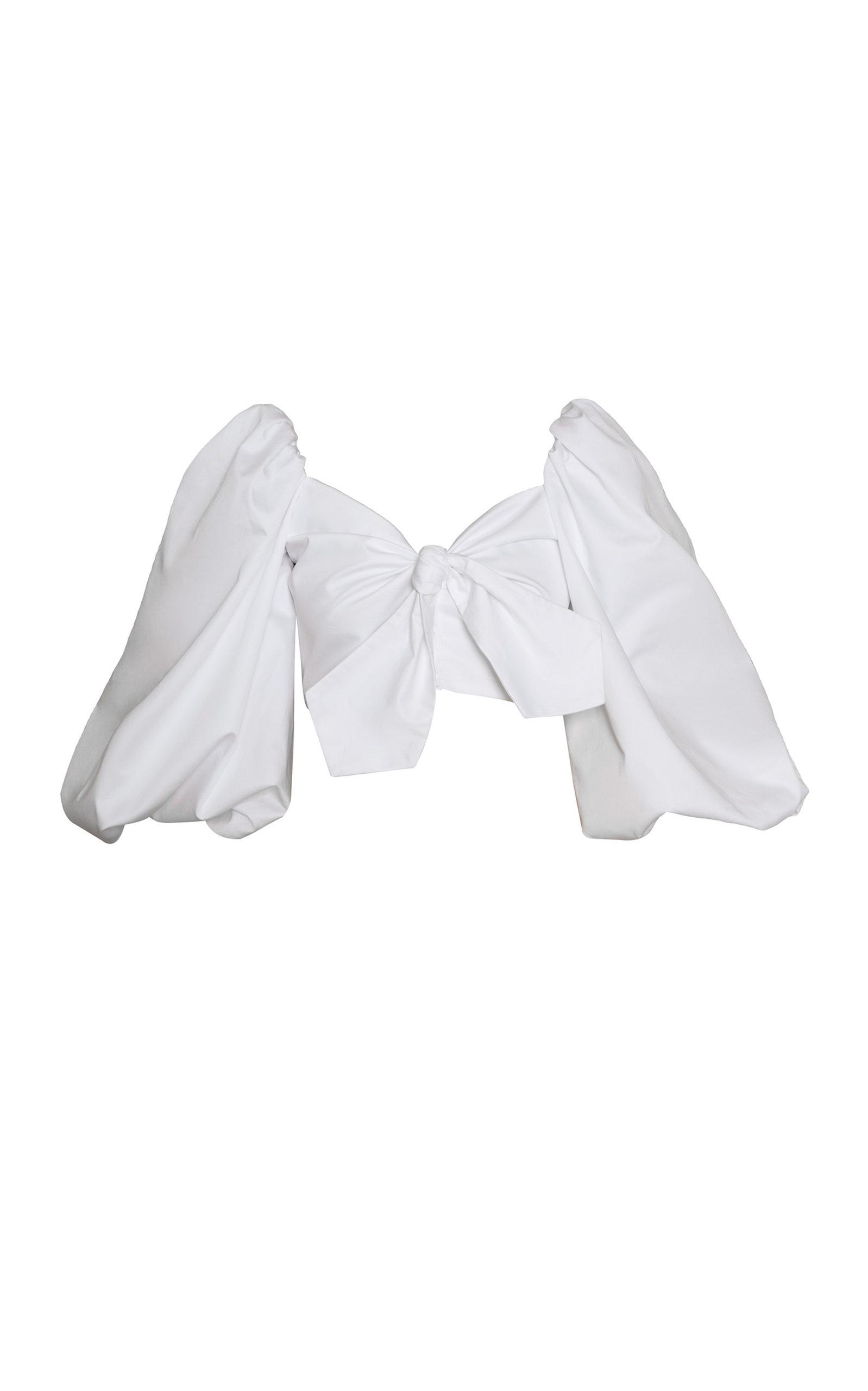 Women's Orquidea Balloon-Sleeve Cotton Top