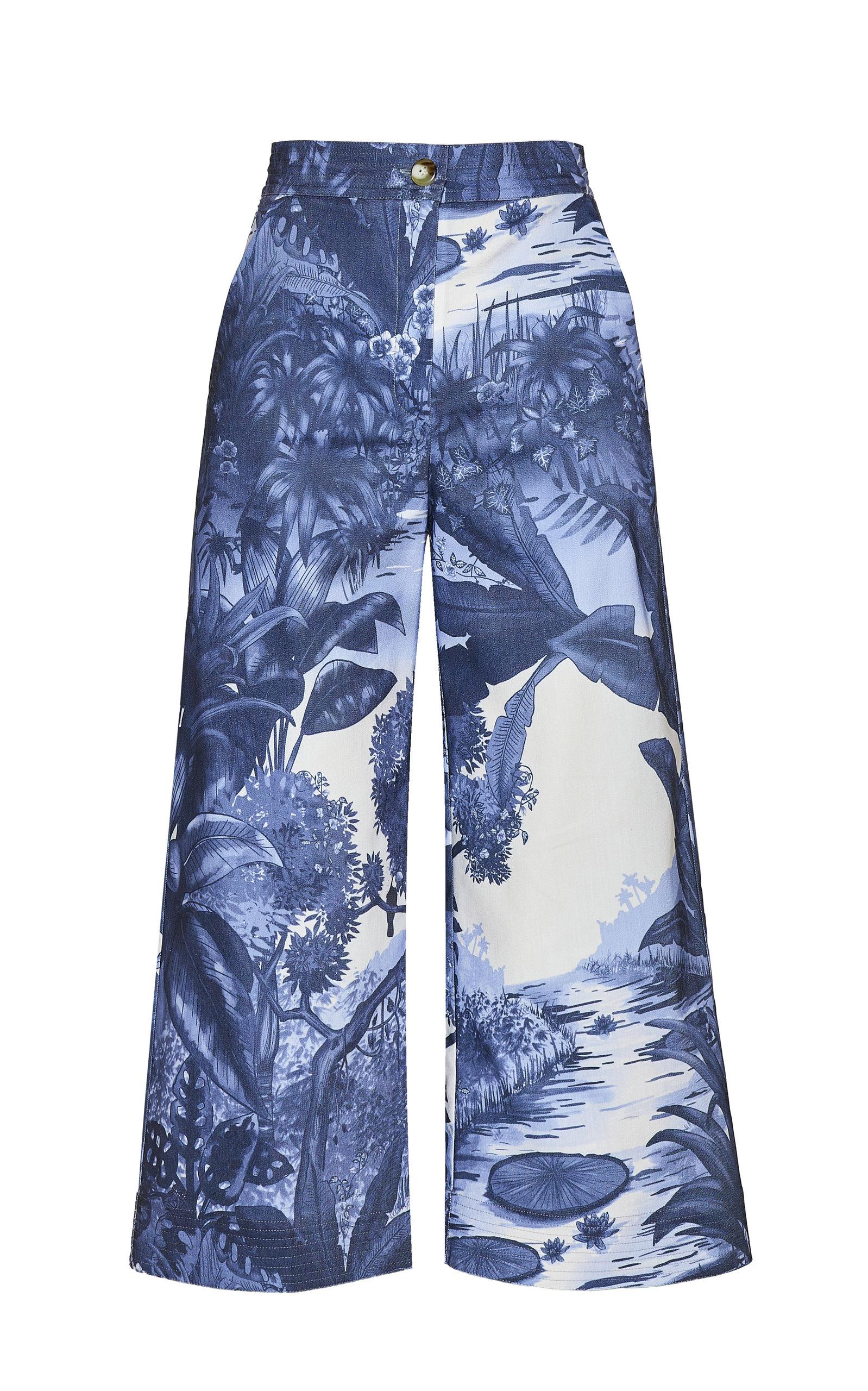 Women's Triton Cropped Cotton Pants