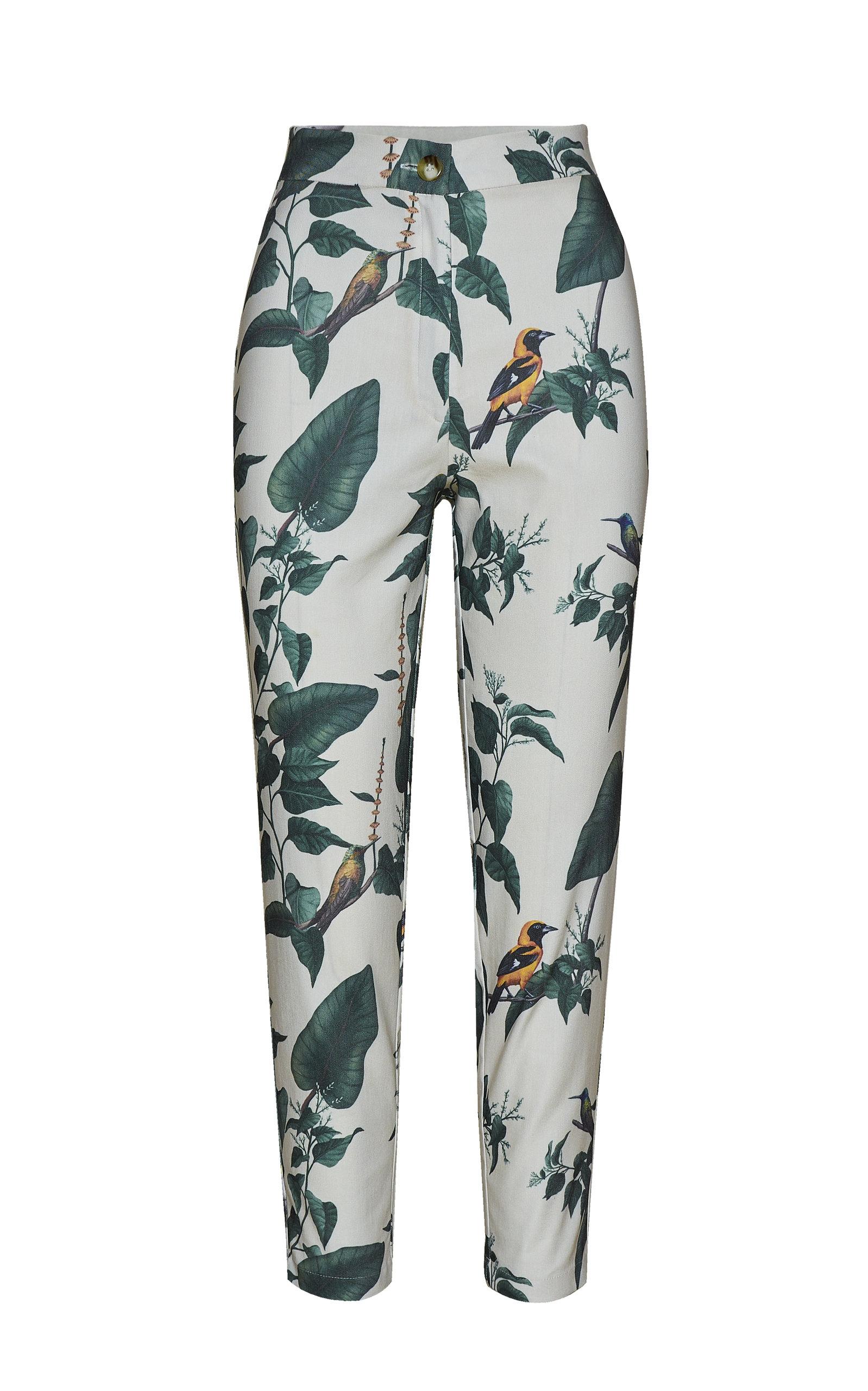 Women's Allium Printed Crepe Pants