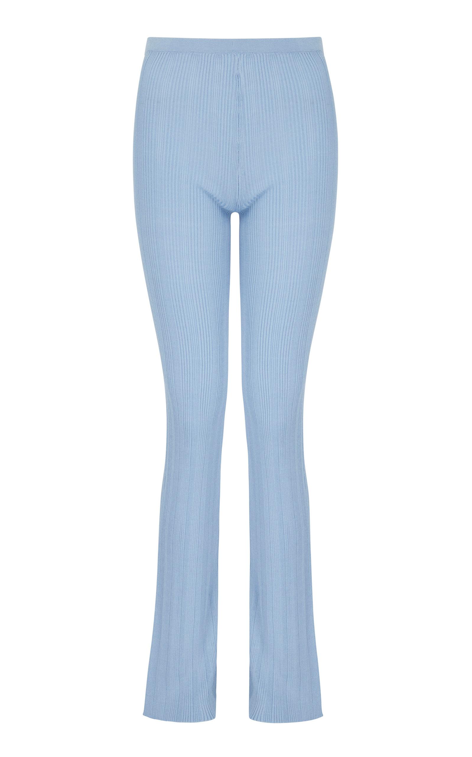 Women's Malachite Knit Straight-Leg Pants