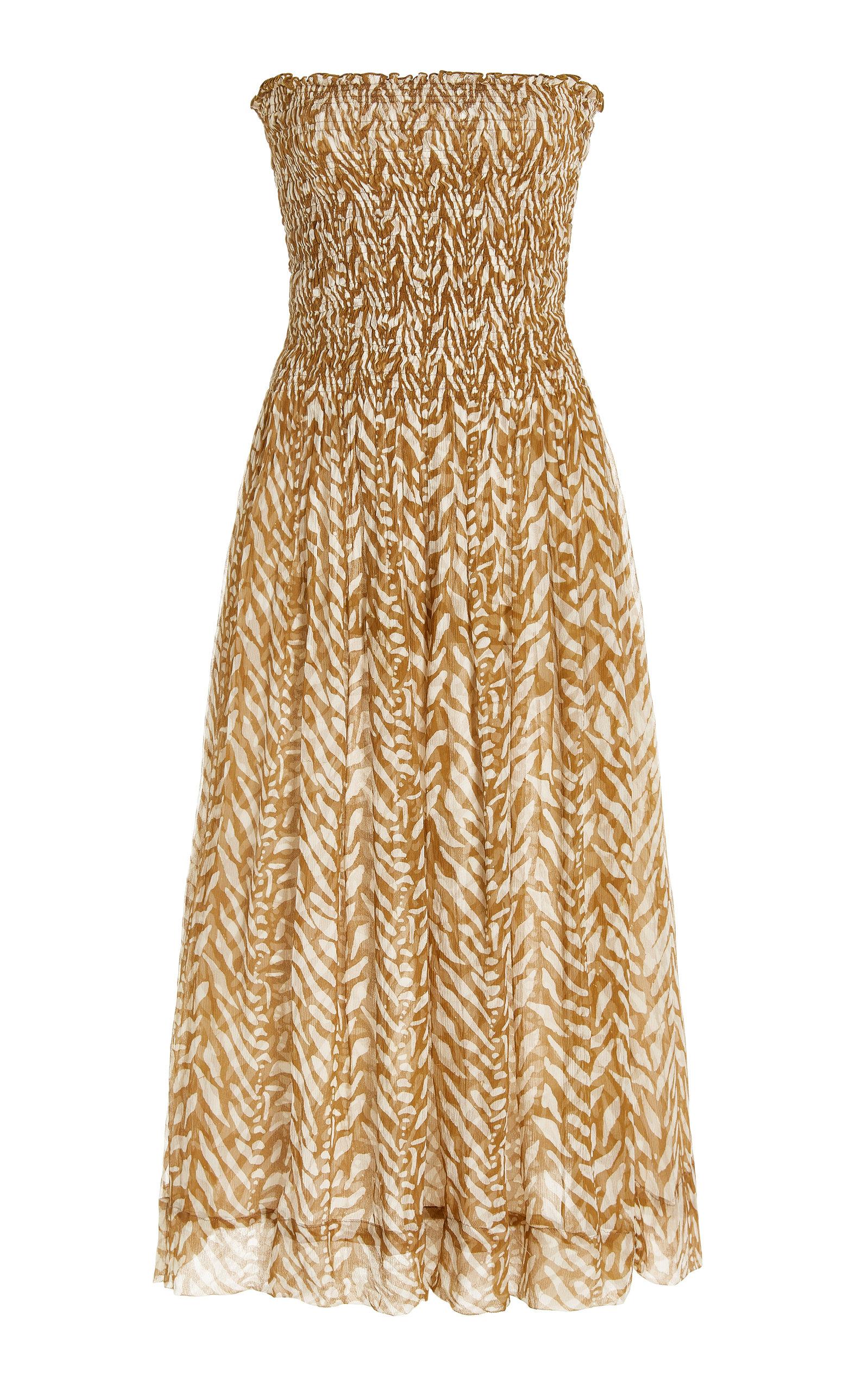Women's Billie Silk Midi Dress