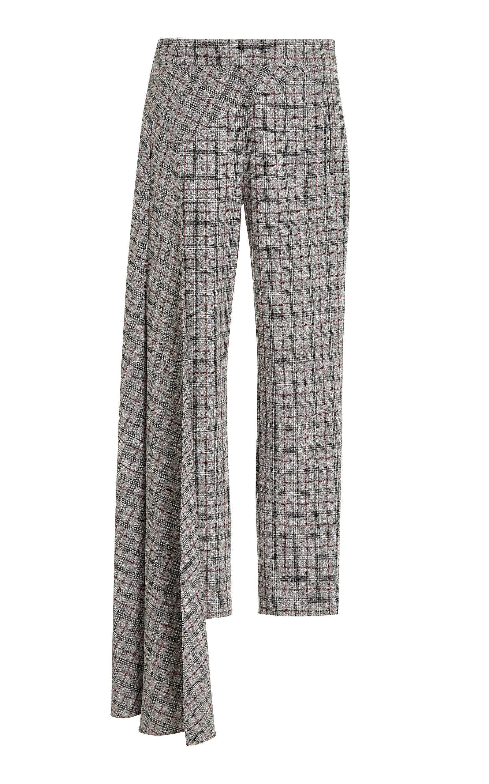 Women's Nasir Checkered Cigarette Pants
