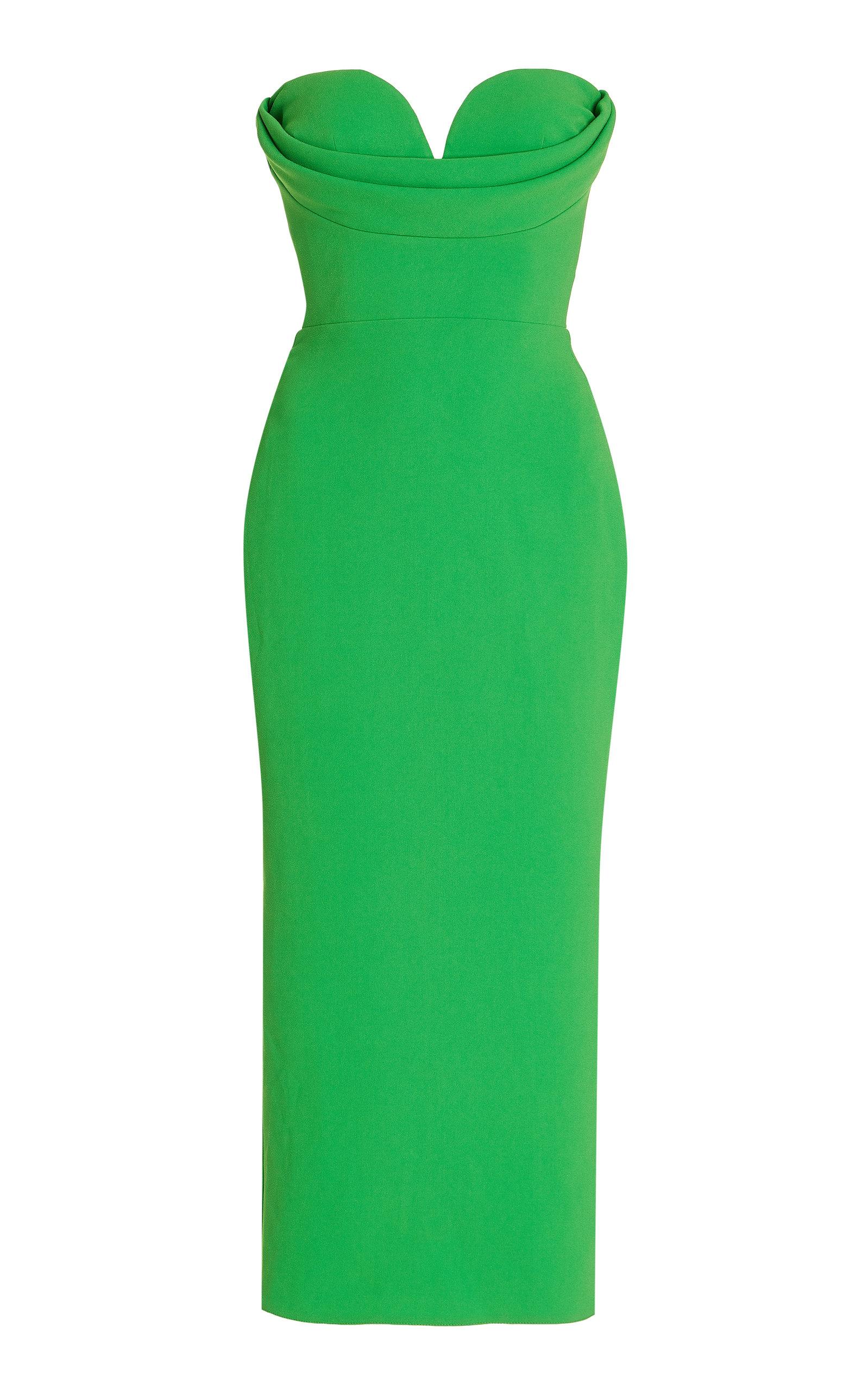 Women's Darcy Draped Stretch Crepe Dress