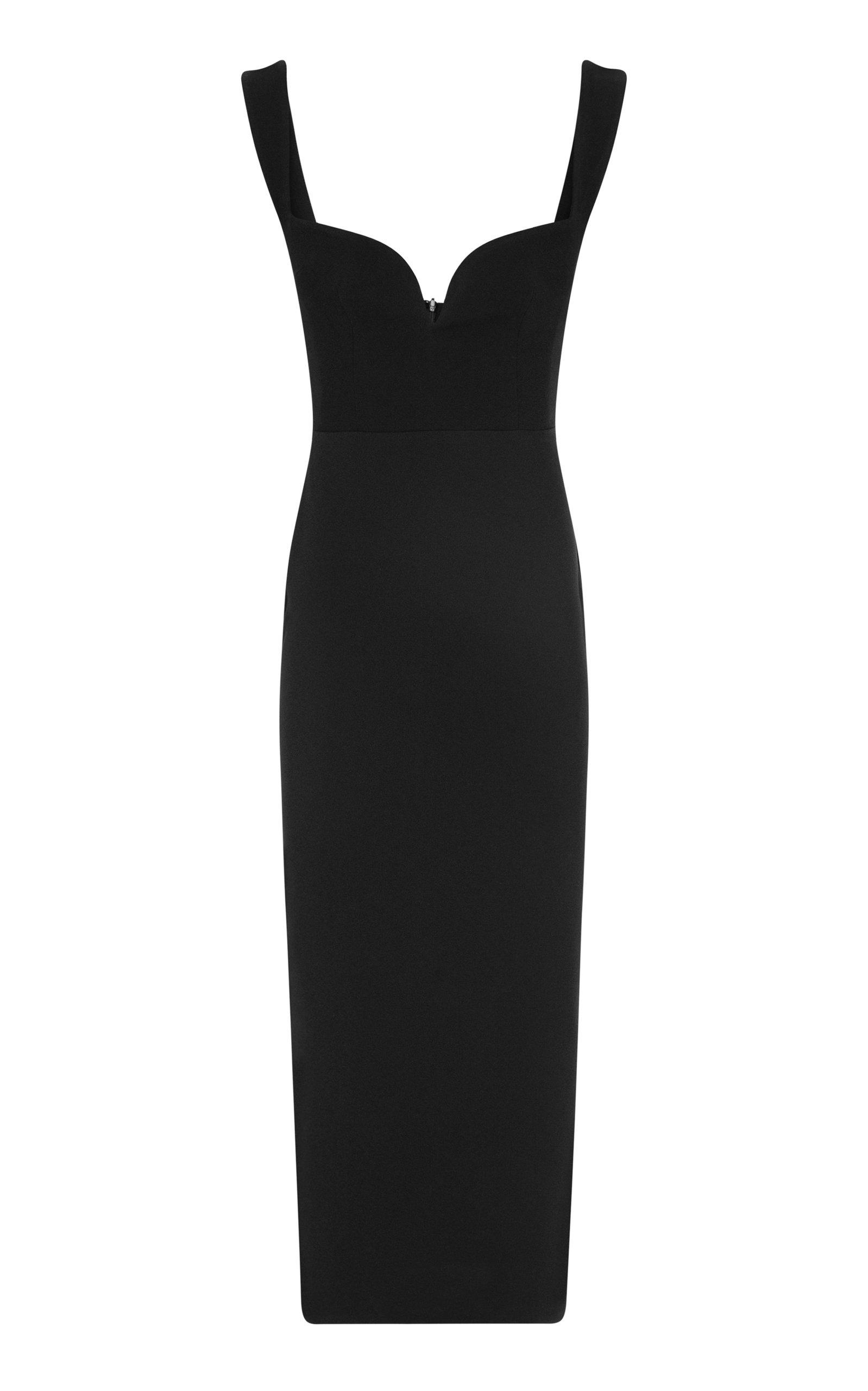Women's Spencer Stretch Crepe Midi Dress