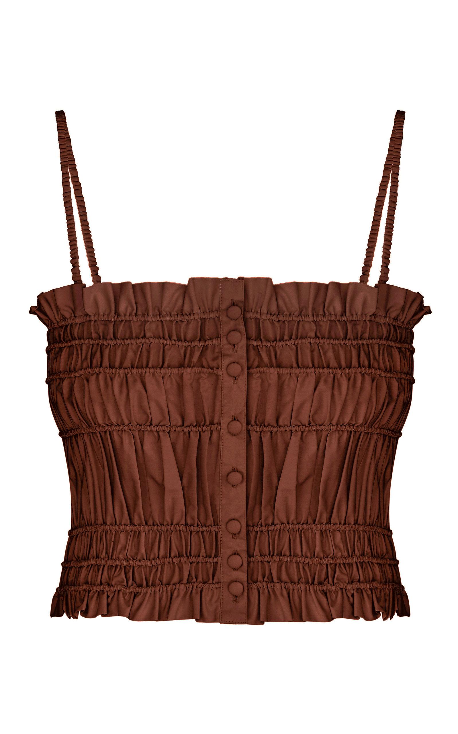 Women's Margarita Smocked Cotton Top