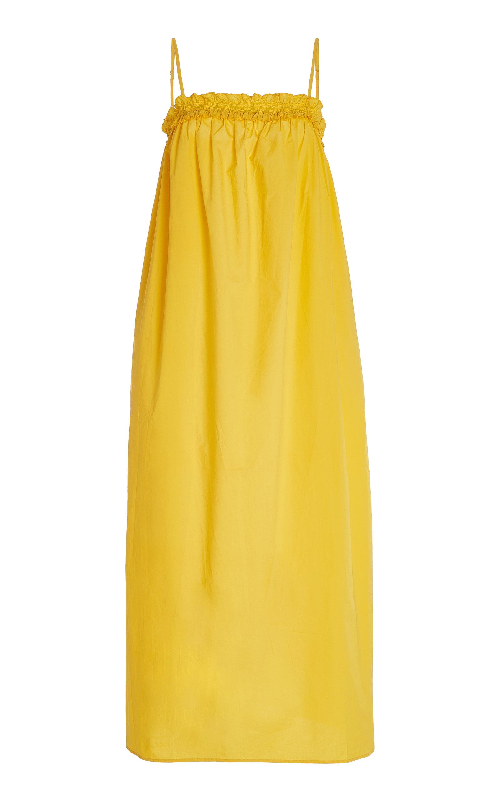 Women's Ida Cotton Poplin Maxi Dress