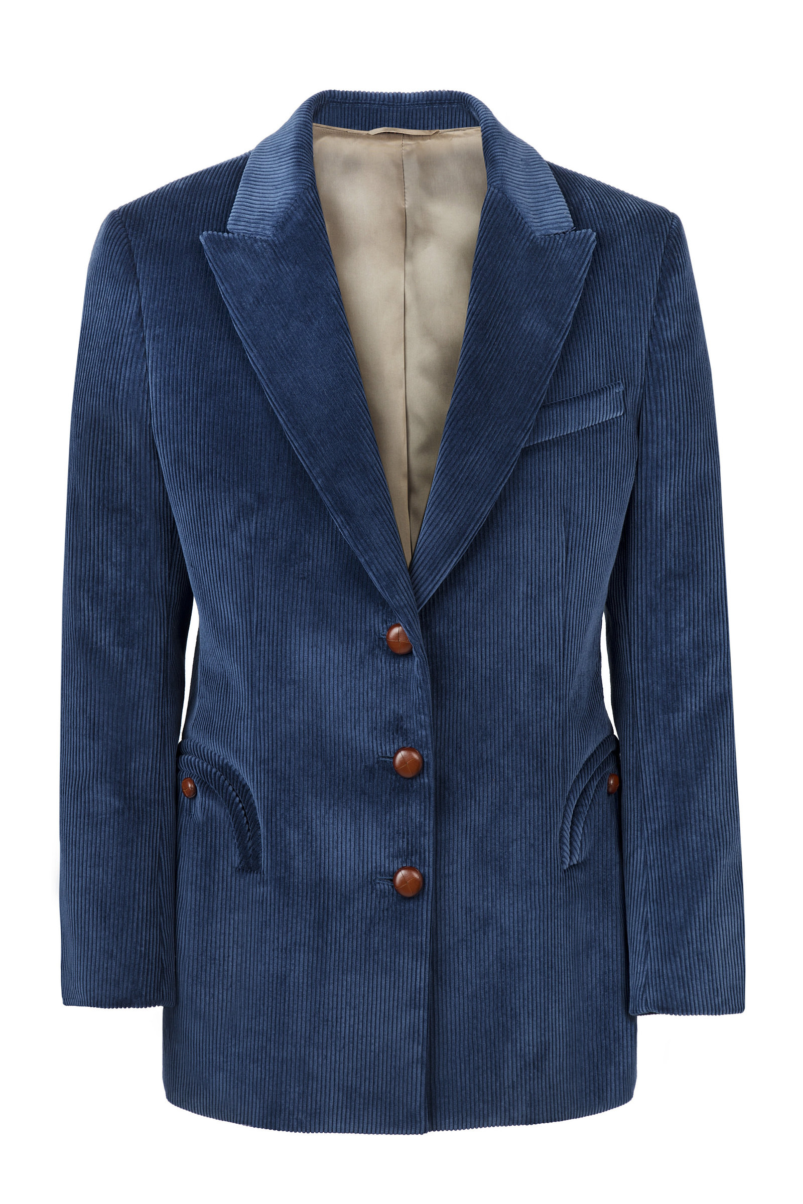 Women's Classic Touch Royal Tomboy Cotton Blazer