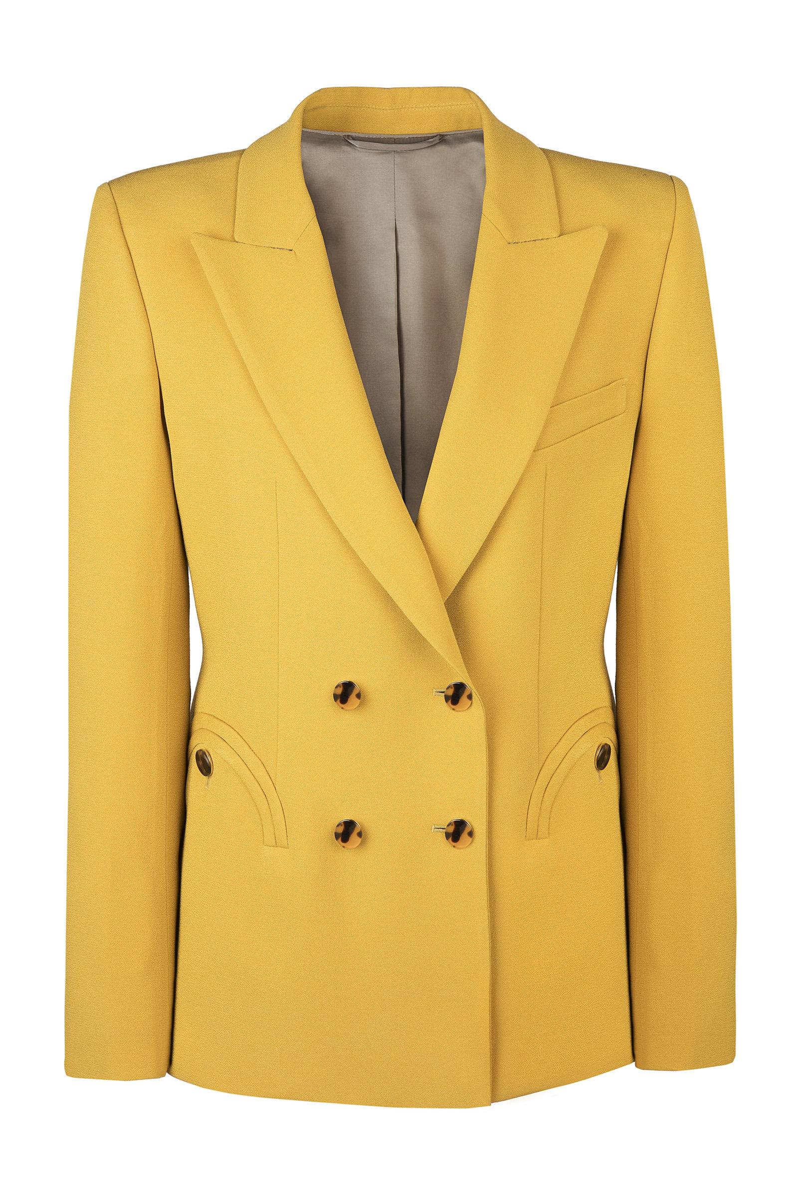 Women's Belle Blonde Charmer Wool-Blend Blazer