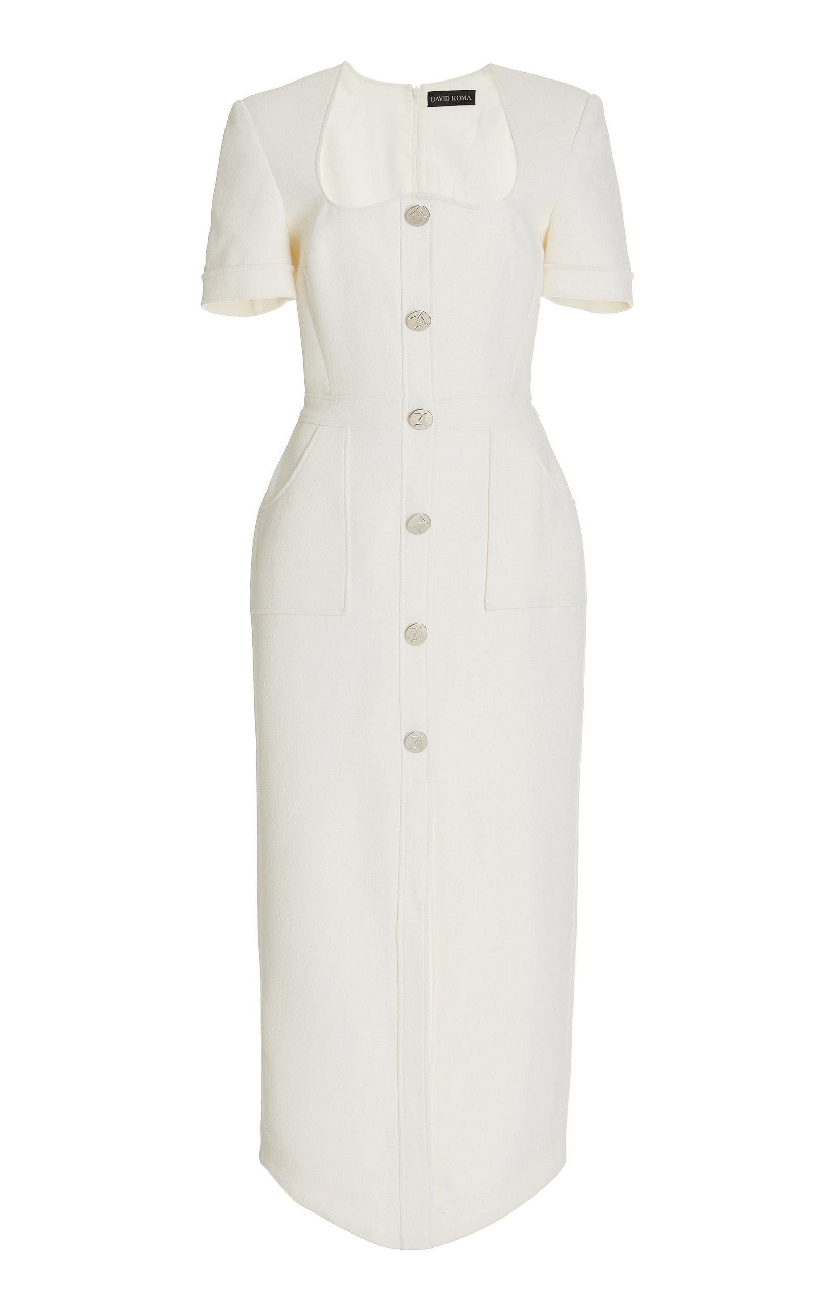 Women's Wool Midi Blazer Dress