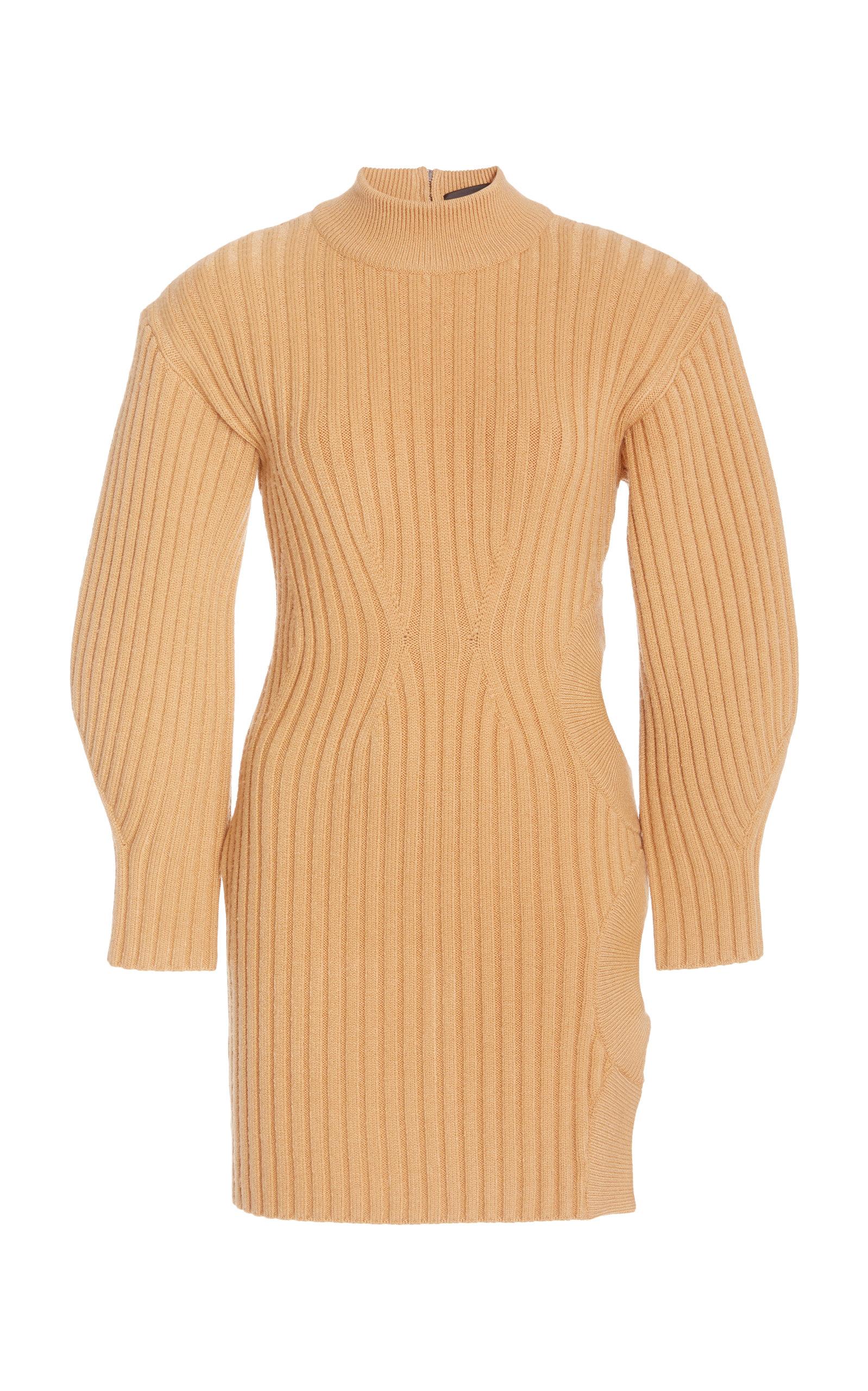 Women's Side Cutout Knit Mini Dress
