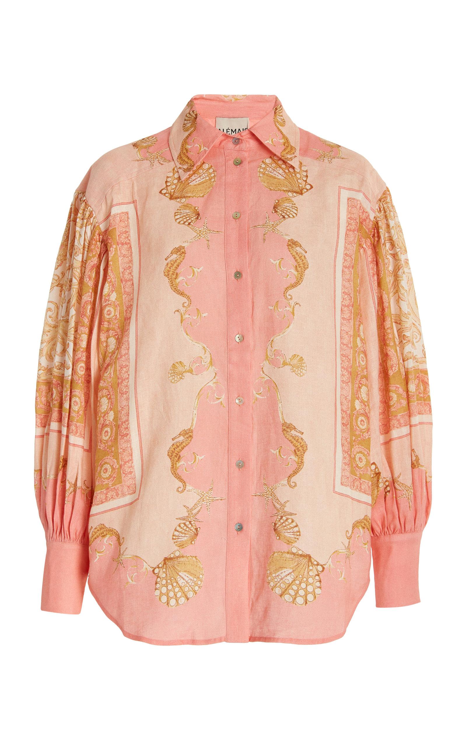 Women's Ursula Printed Linen Shirt