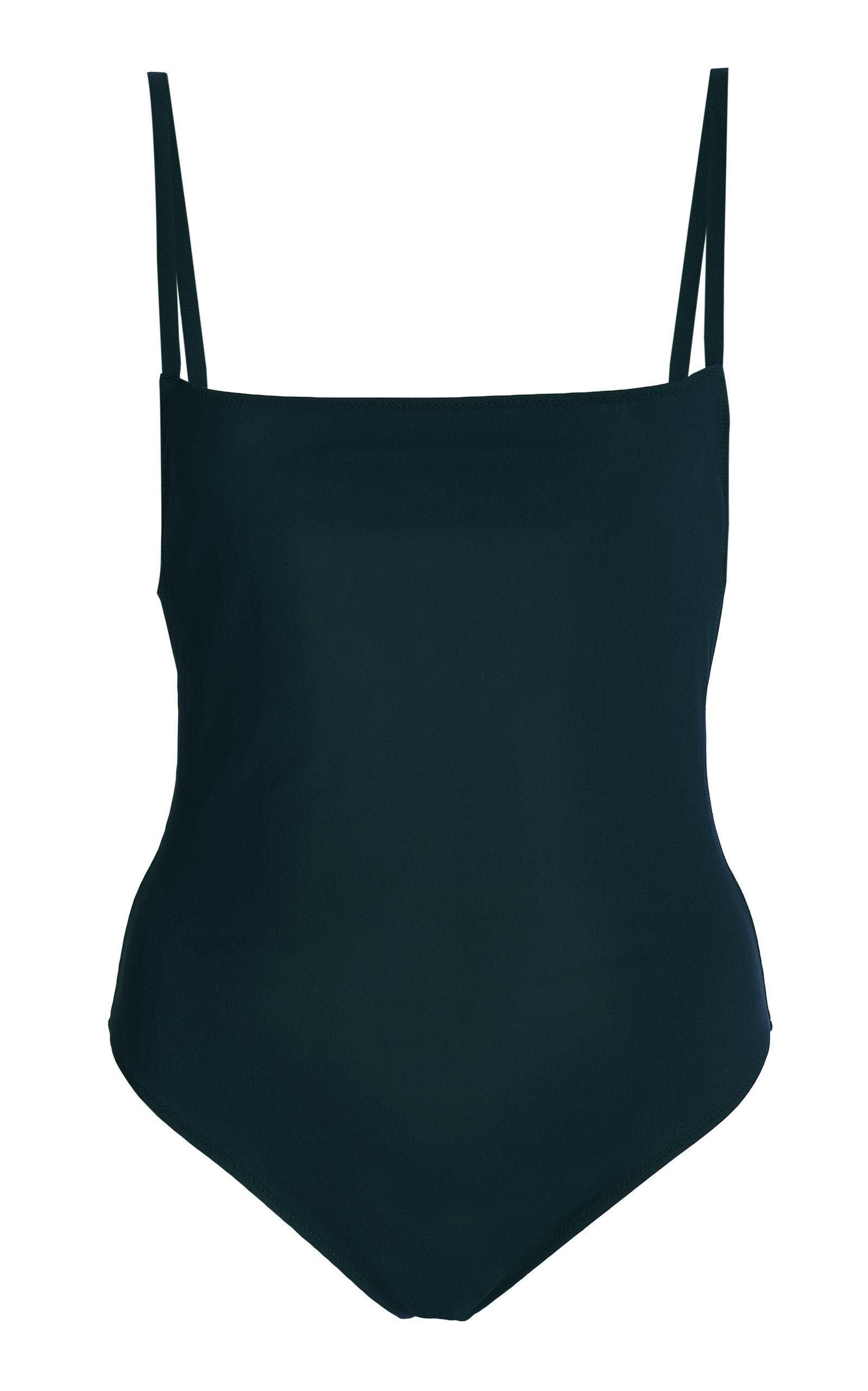 Women's Open-Back Stretch Swimsuit