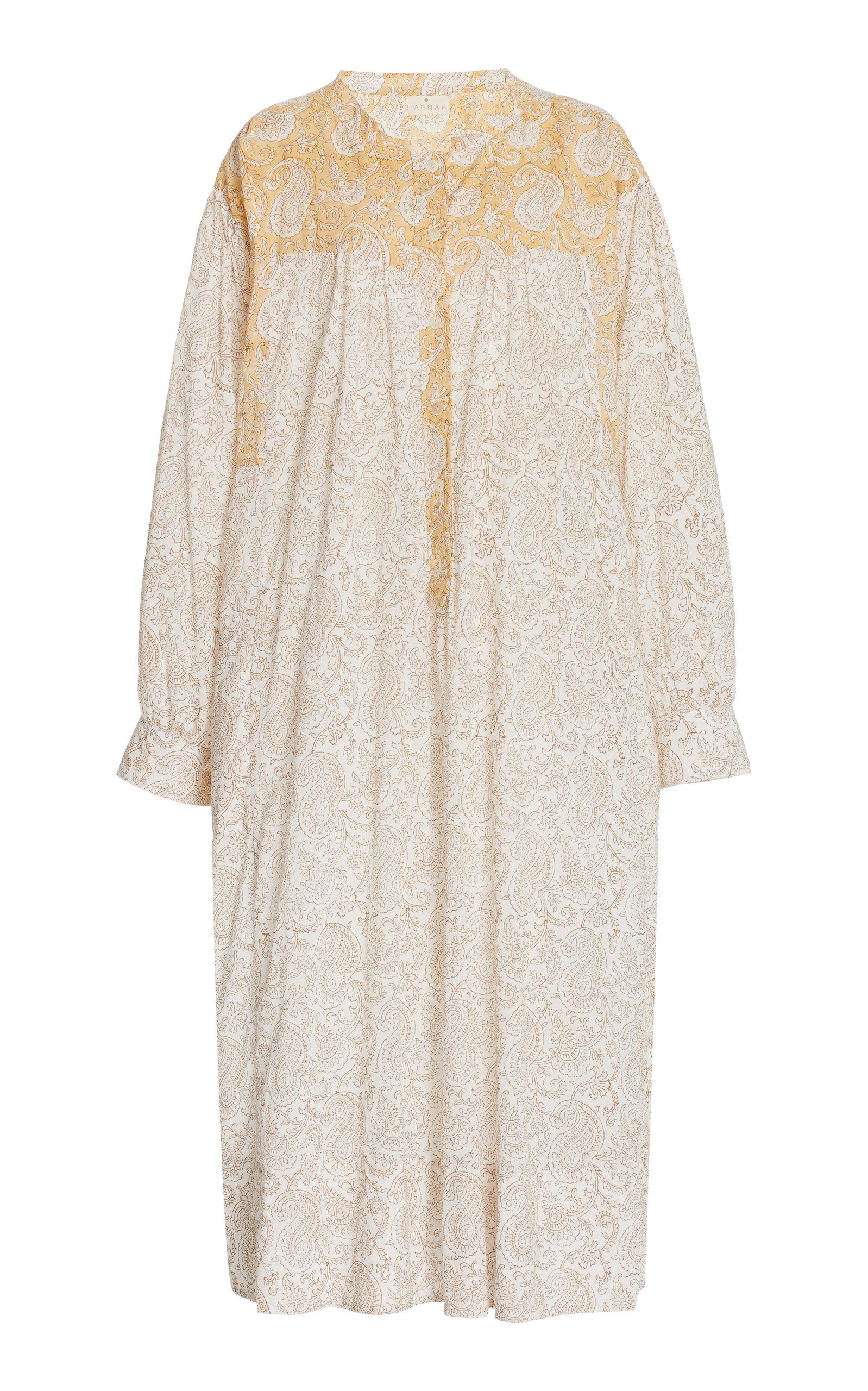 Women's Cabarita Printed Cotton Shirt Dress