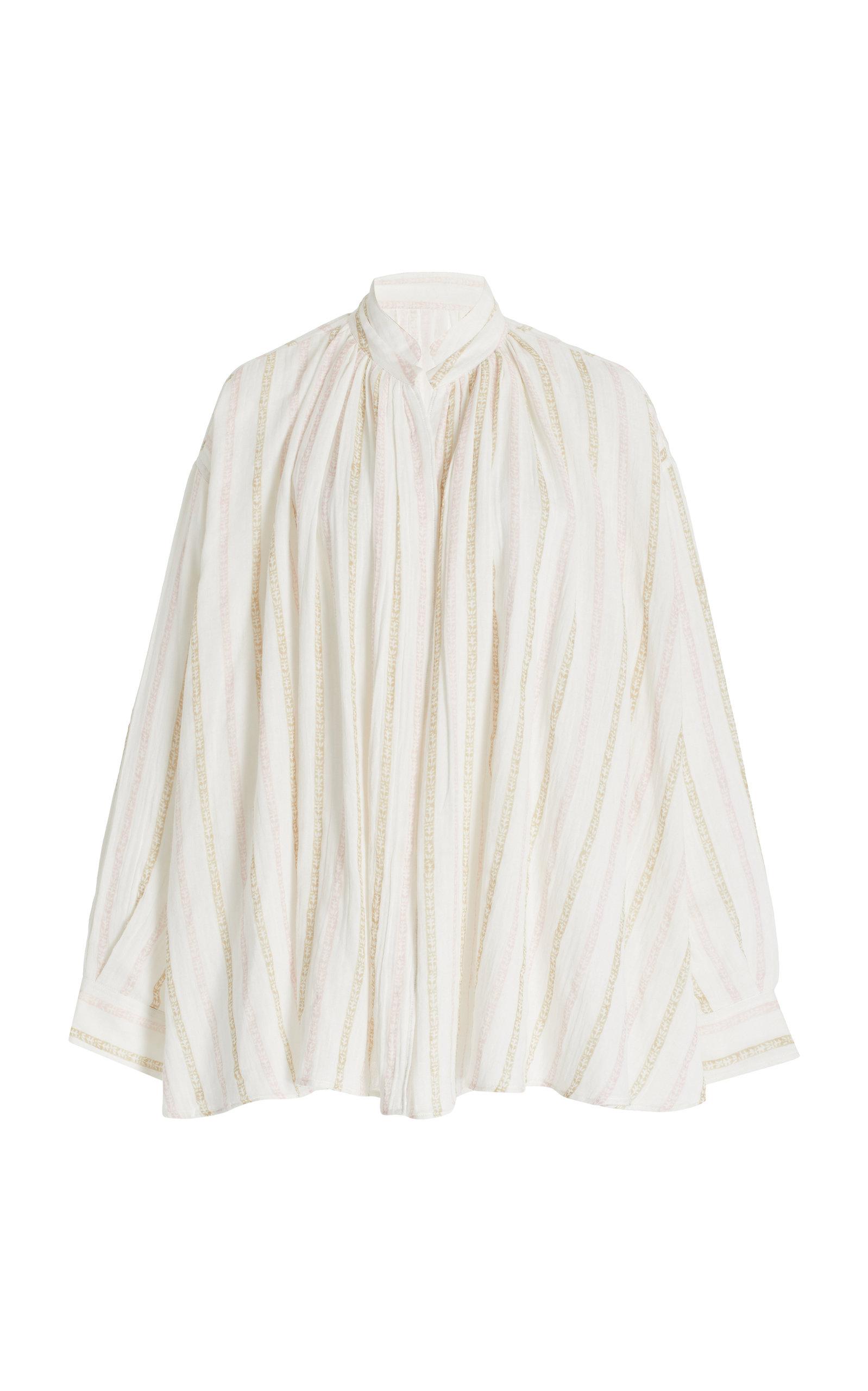 Women's Agnes Striped Cotton Top