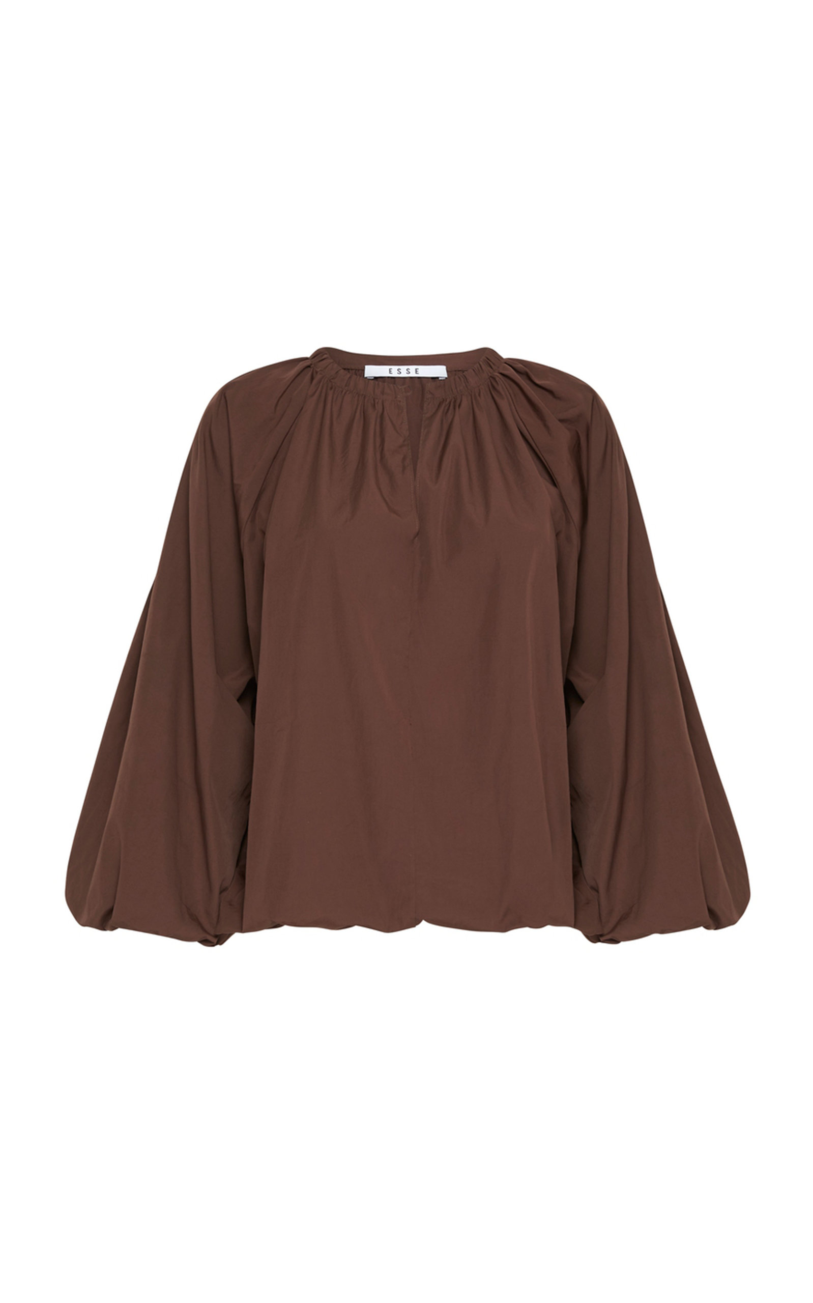 Women's Puff-Sleeve Cotton Top