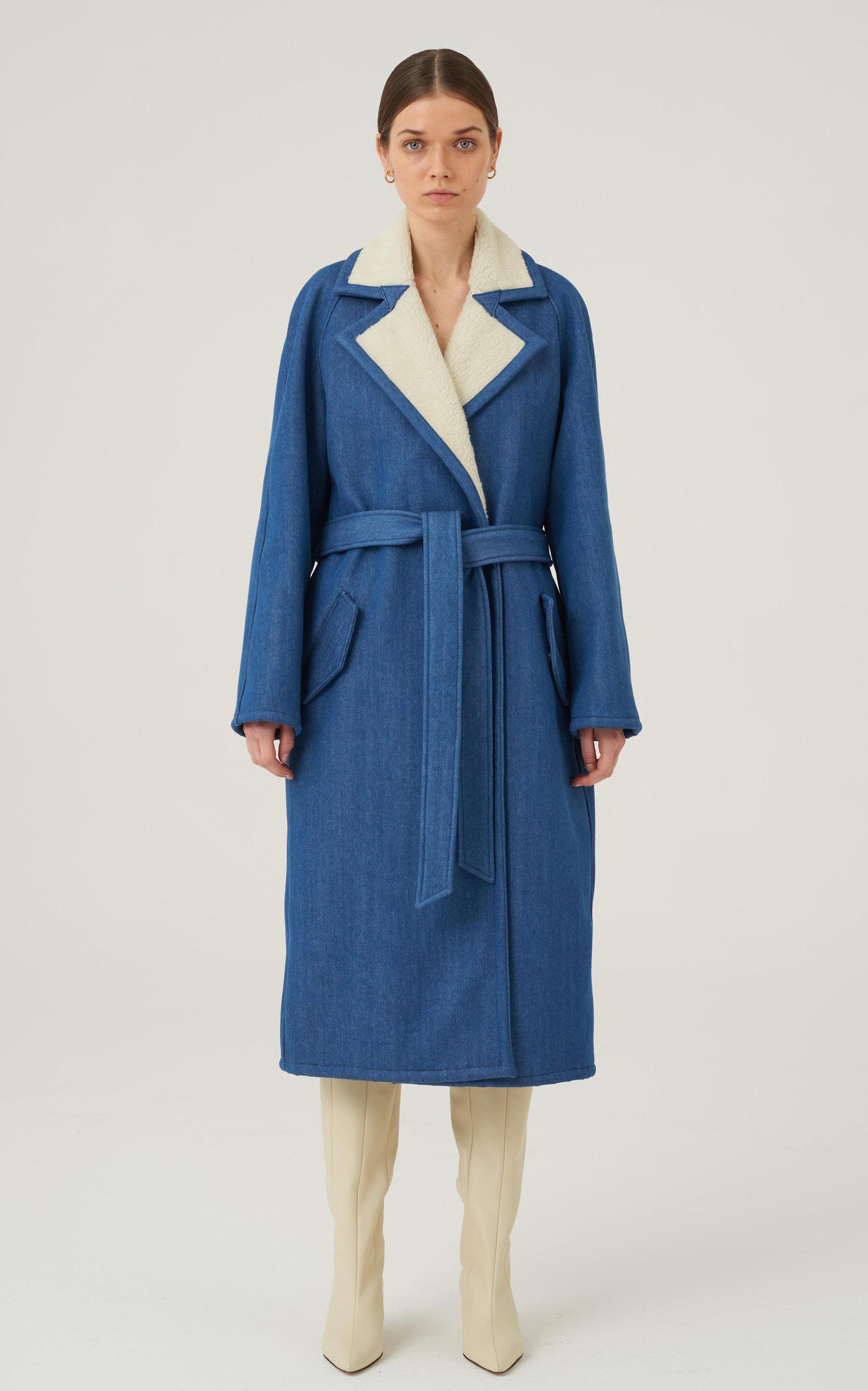 Women's Lake Cotton-Blend Trench Coat