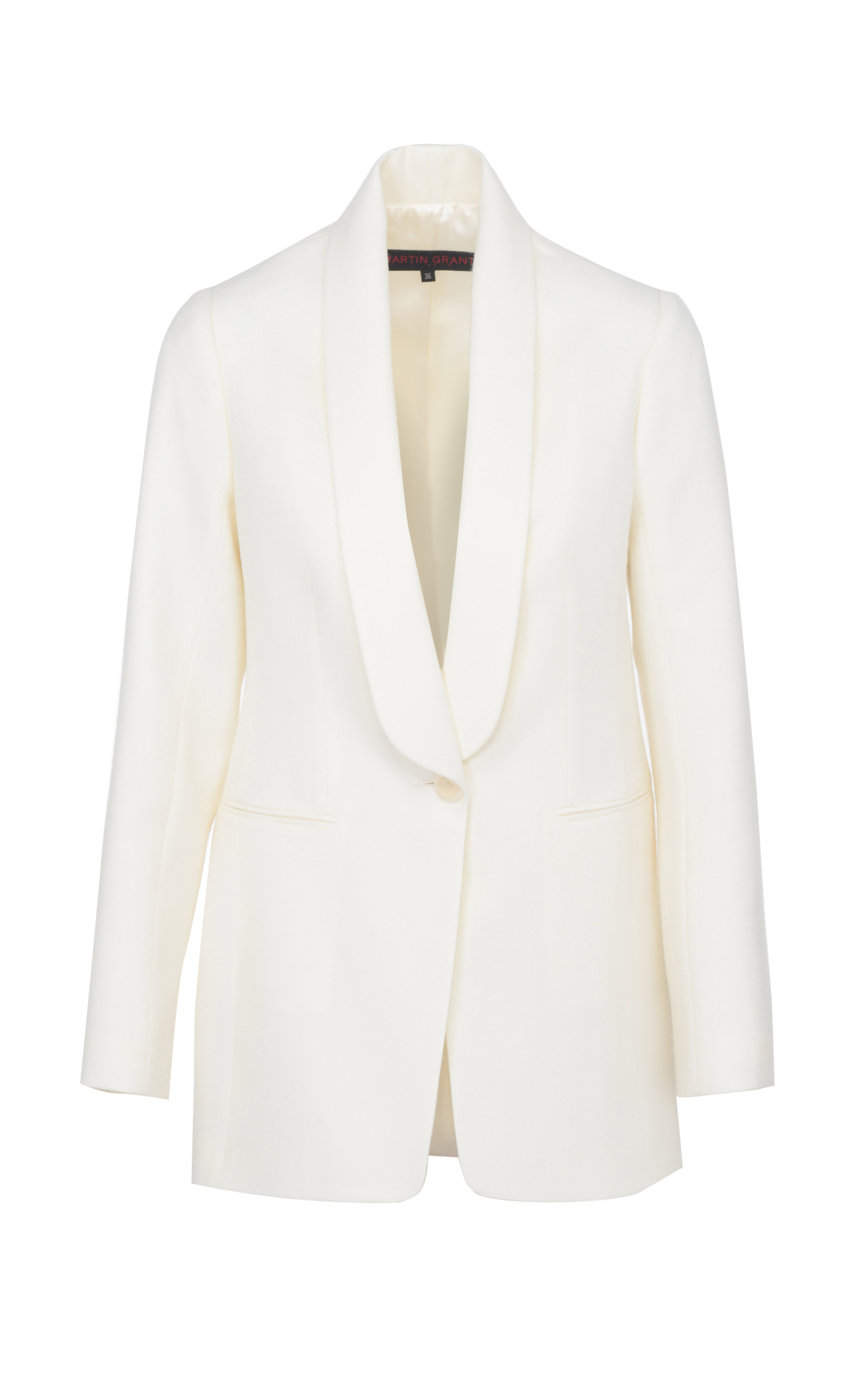 Women's Tuxedo Virgin-Wool Blazer