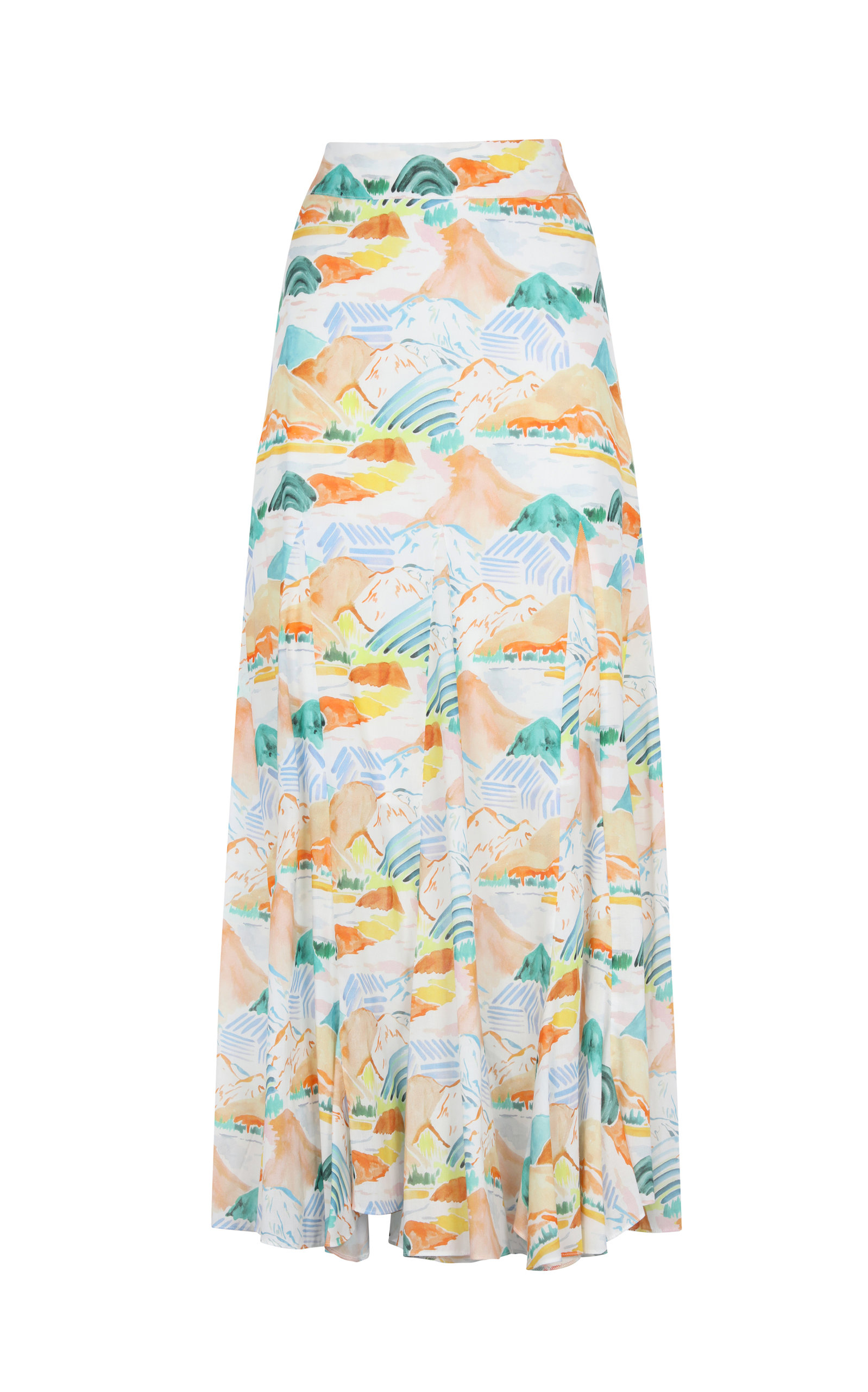 Women's Nanay Montanas Printed Cotton Maxi Skirt