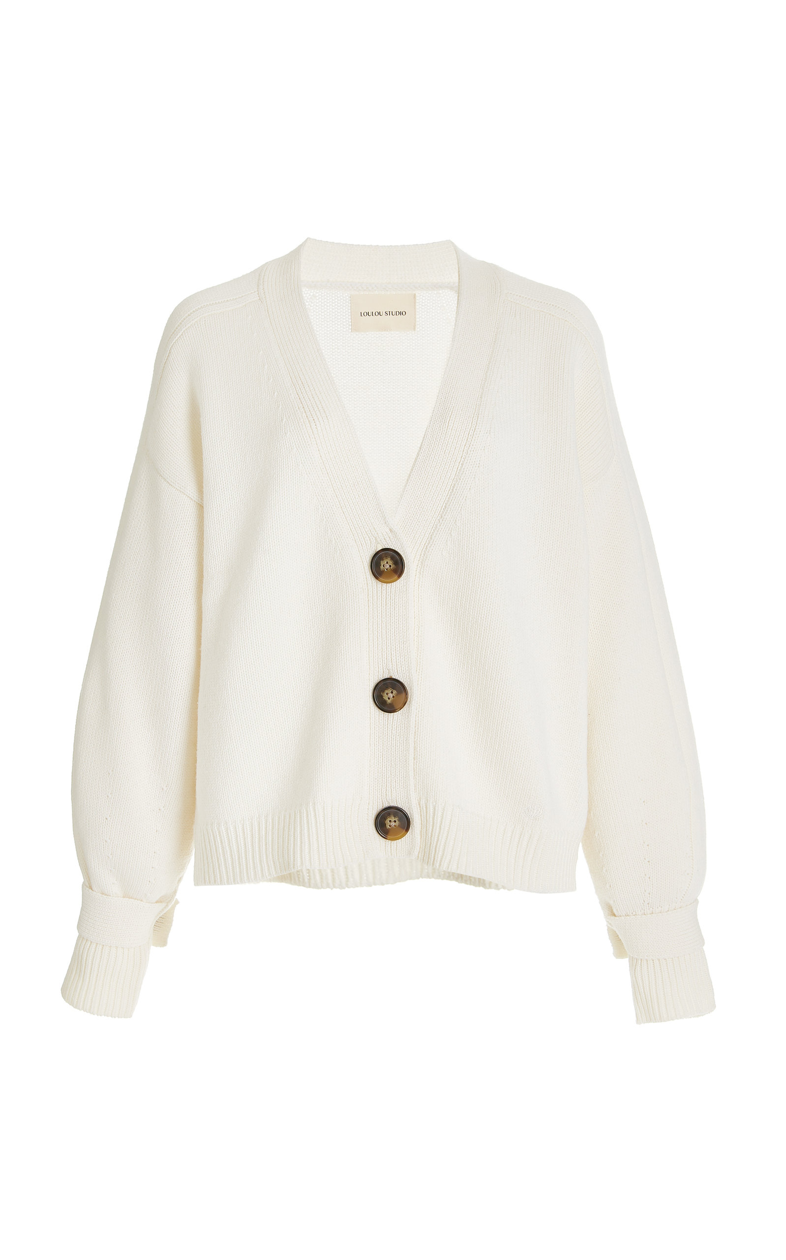 Women's Tiberine Wool-Cashmere Cardigan