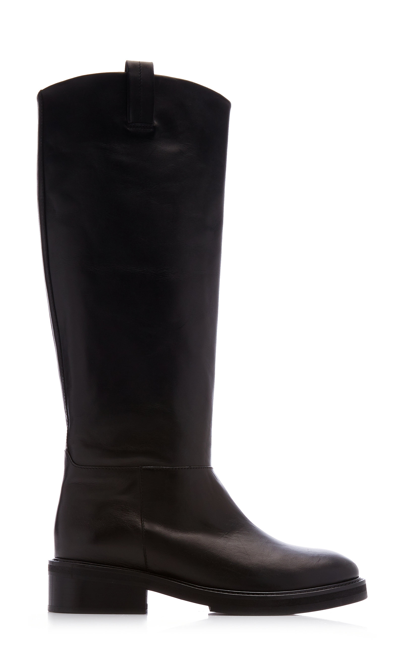 Women's Frances Leather Knee High Boots