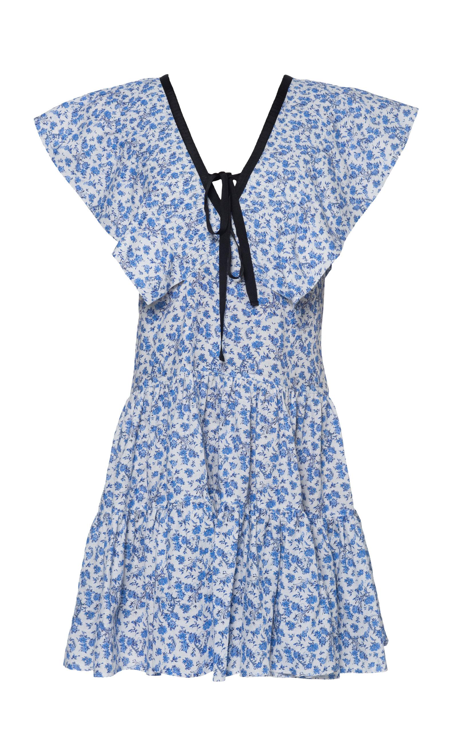 Women's Cora Cotton-Blend Mini-Dress