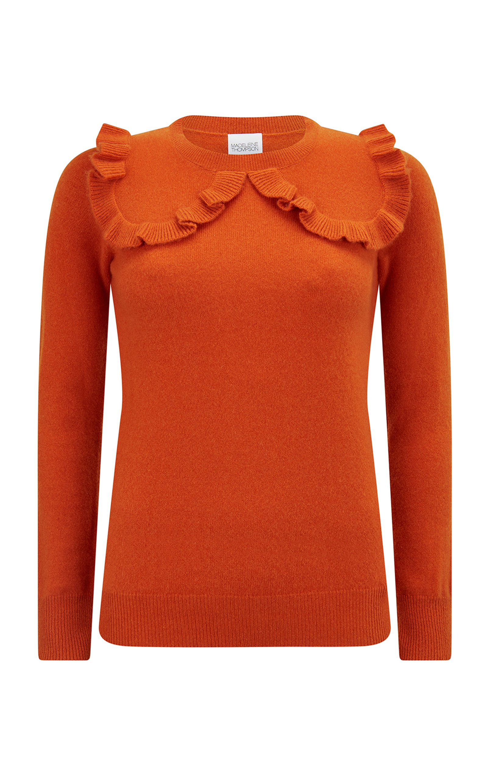 Women's Adelboden Ruffled Cashmere Sweater