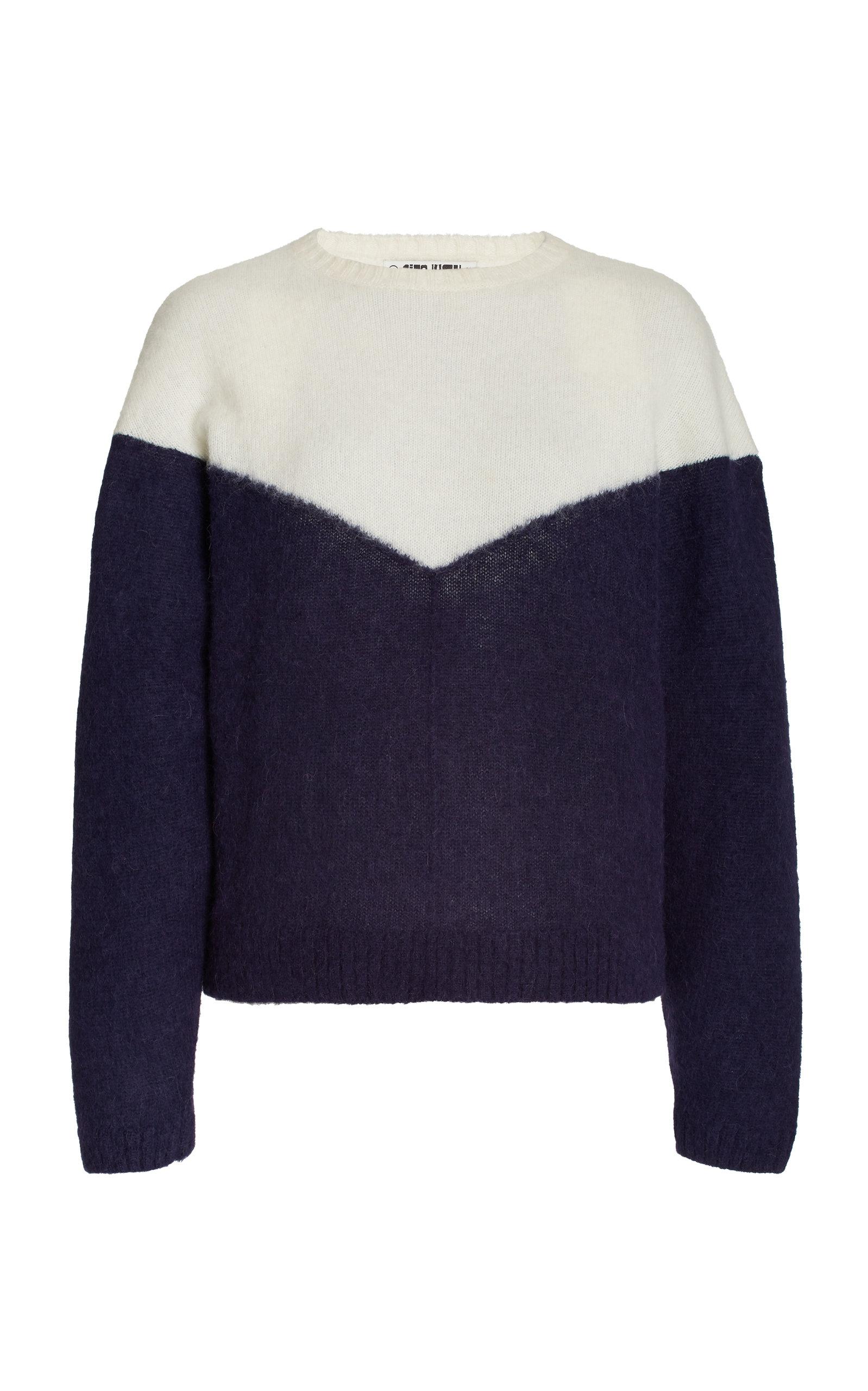 Women's Nonno Two-Tone Alpaca-Blend Knit Sweater