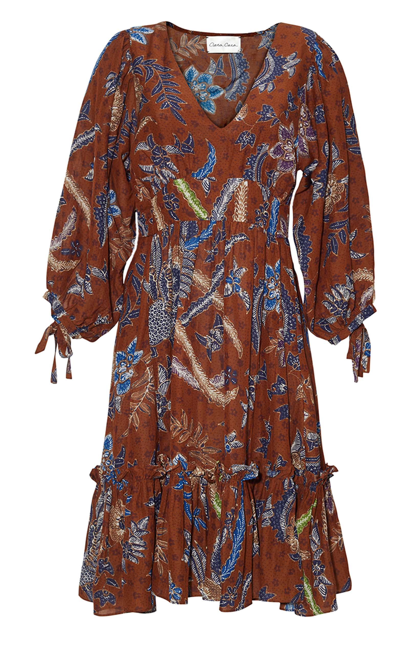 Women's Millbrook Ruffled Cotton Voile Mini Dress