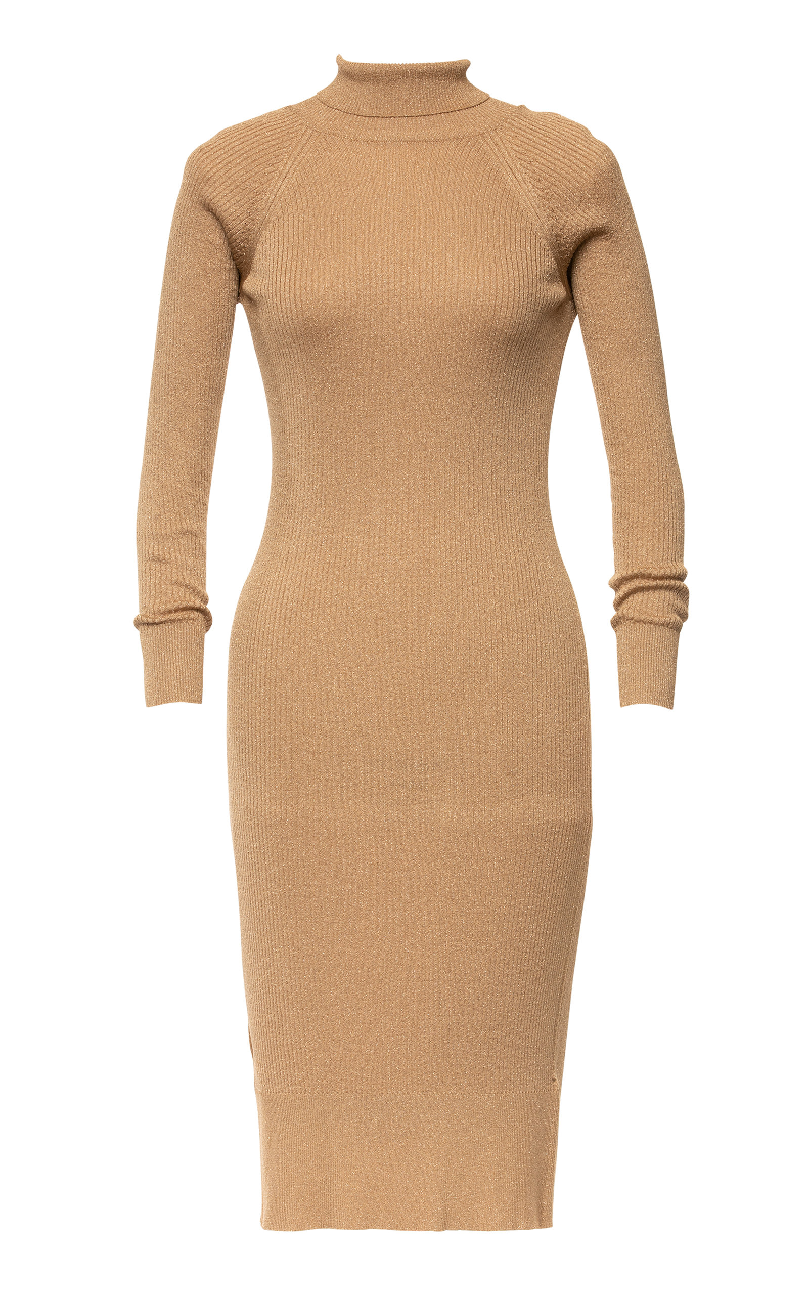 Women's Claudine Ribbed-Knit Knee-Length Dress
